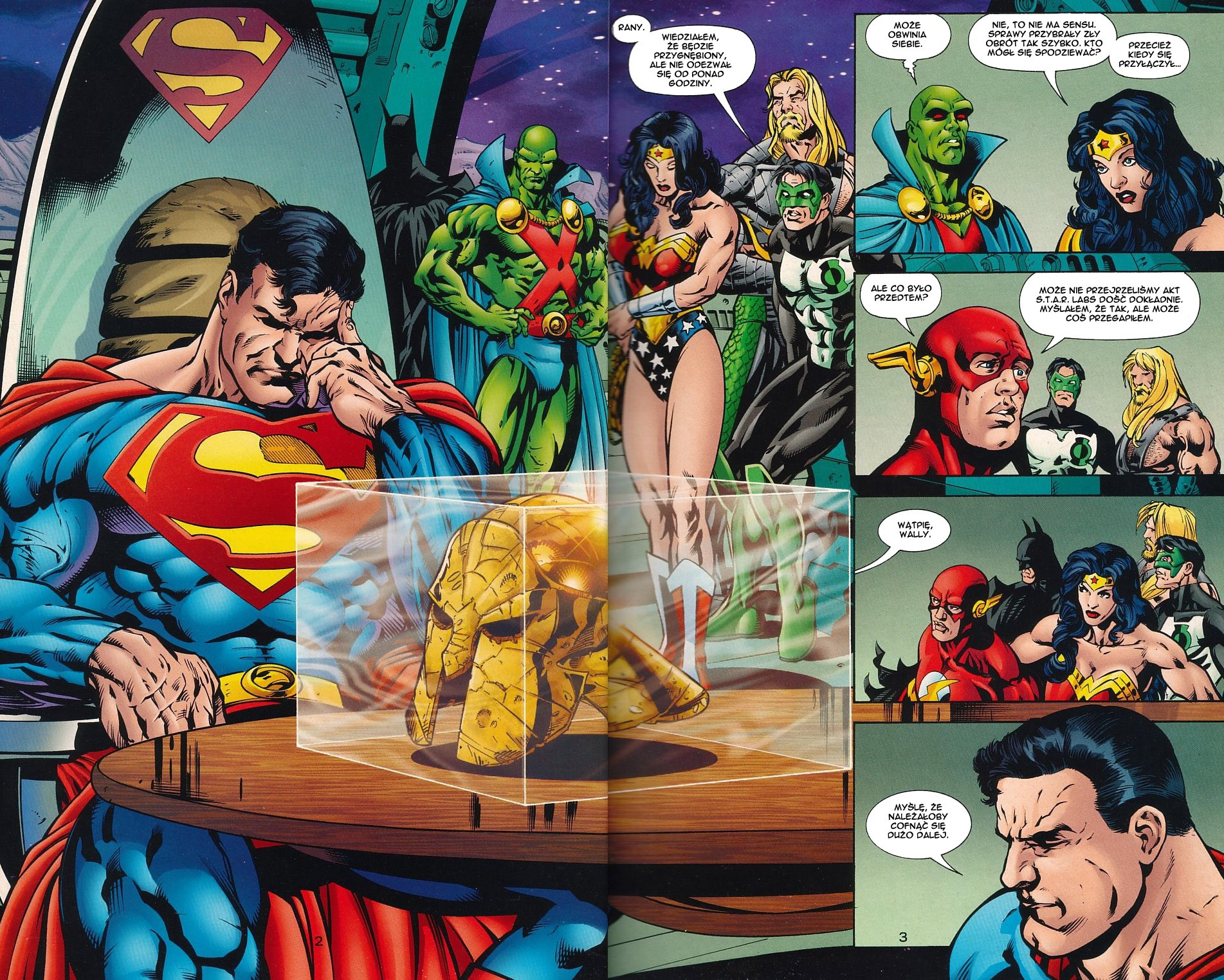 Read online JLA Superpower comic -  Issue # Full - 4