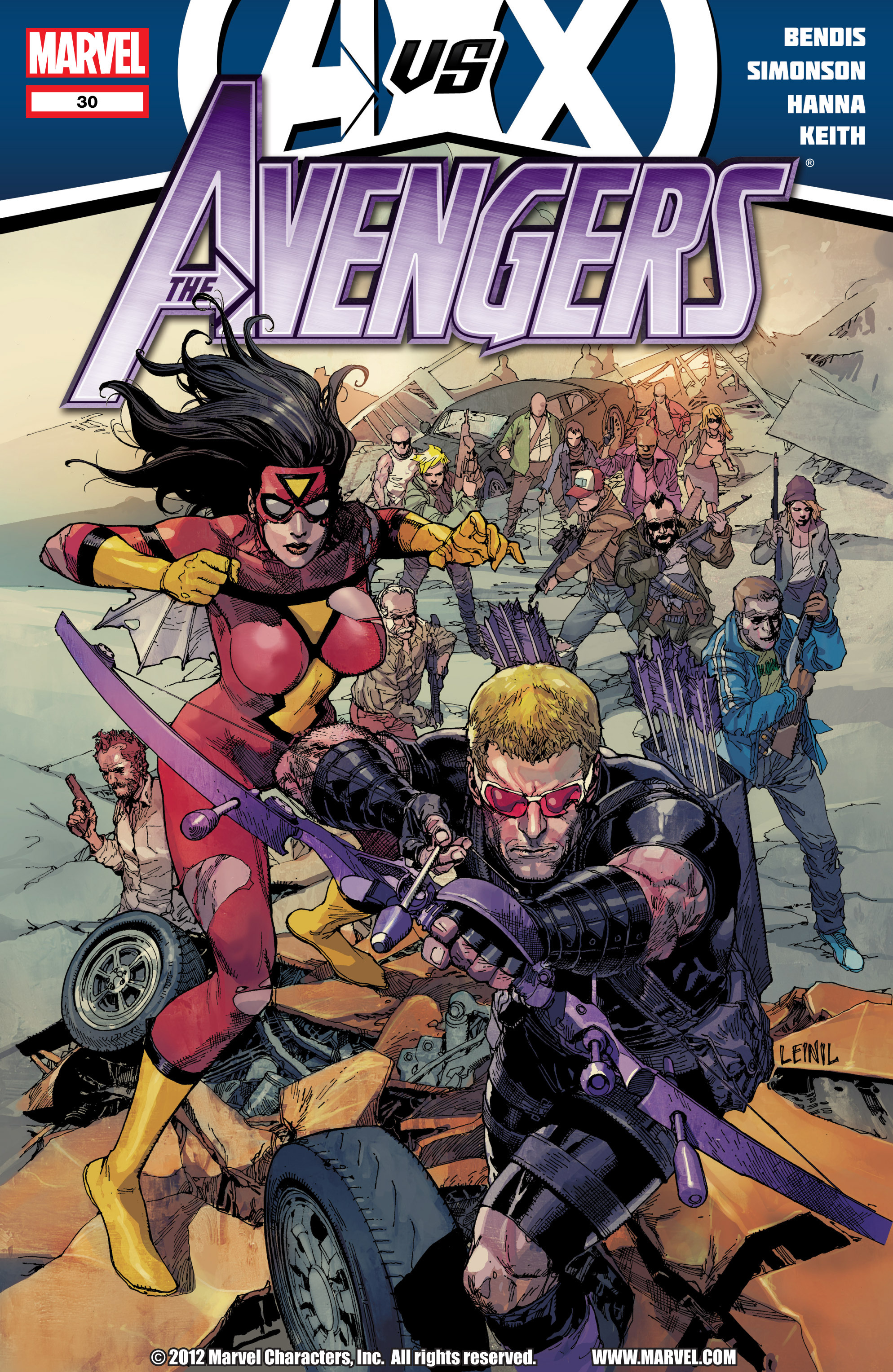 Read online Avengers (2010) comic -  Issue #30 - 1
