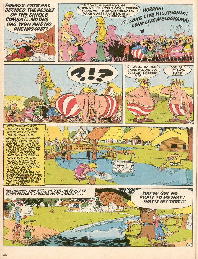 Read online Asterix comic -  Issue #25 - 43