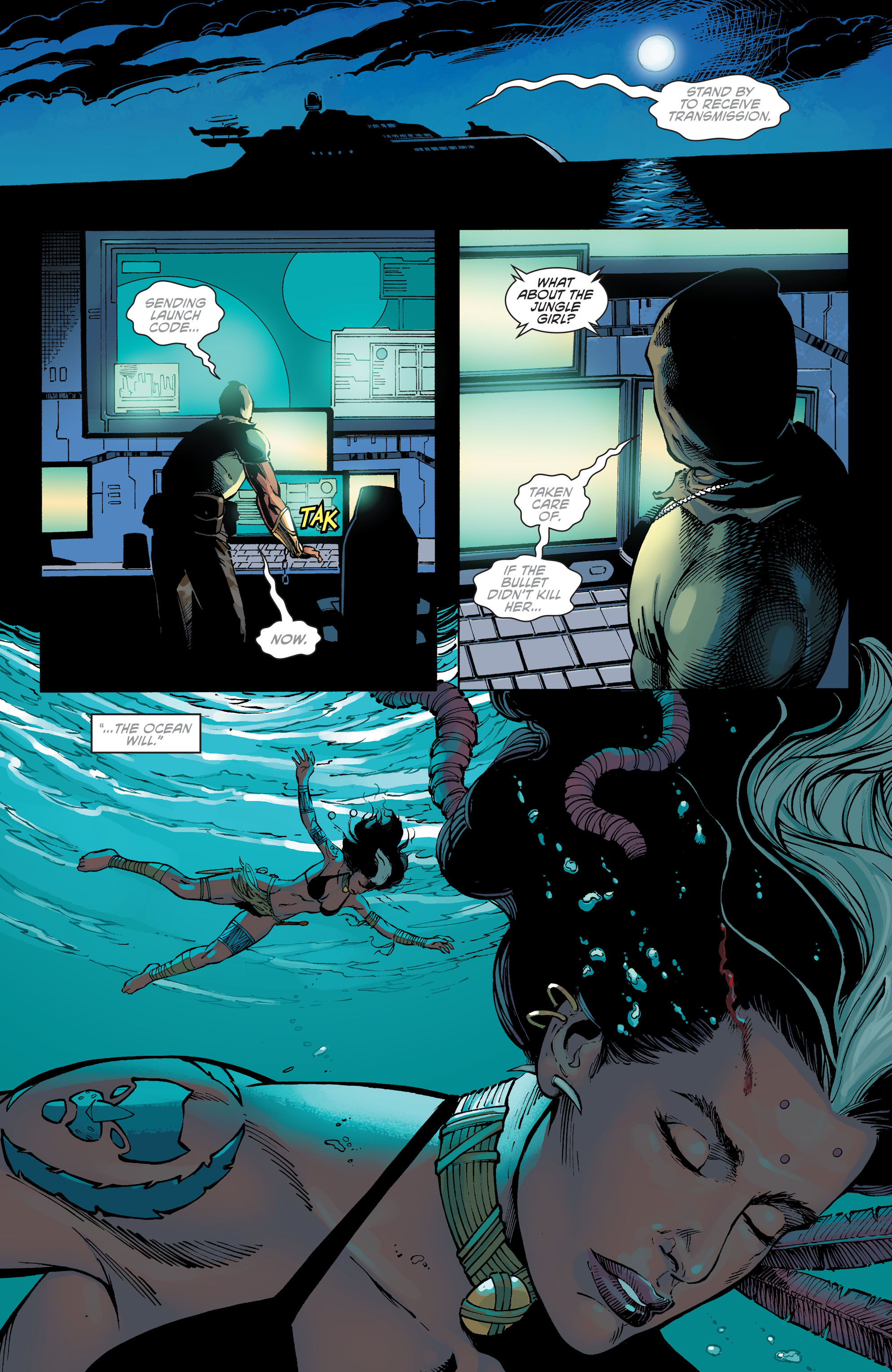 Read online Aquaman and the Others comic -  Issue #10 - 2