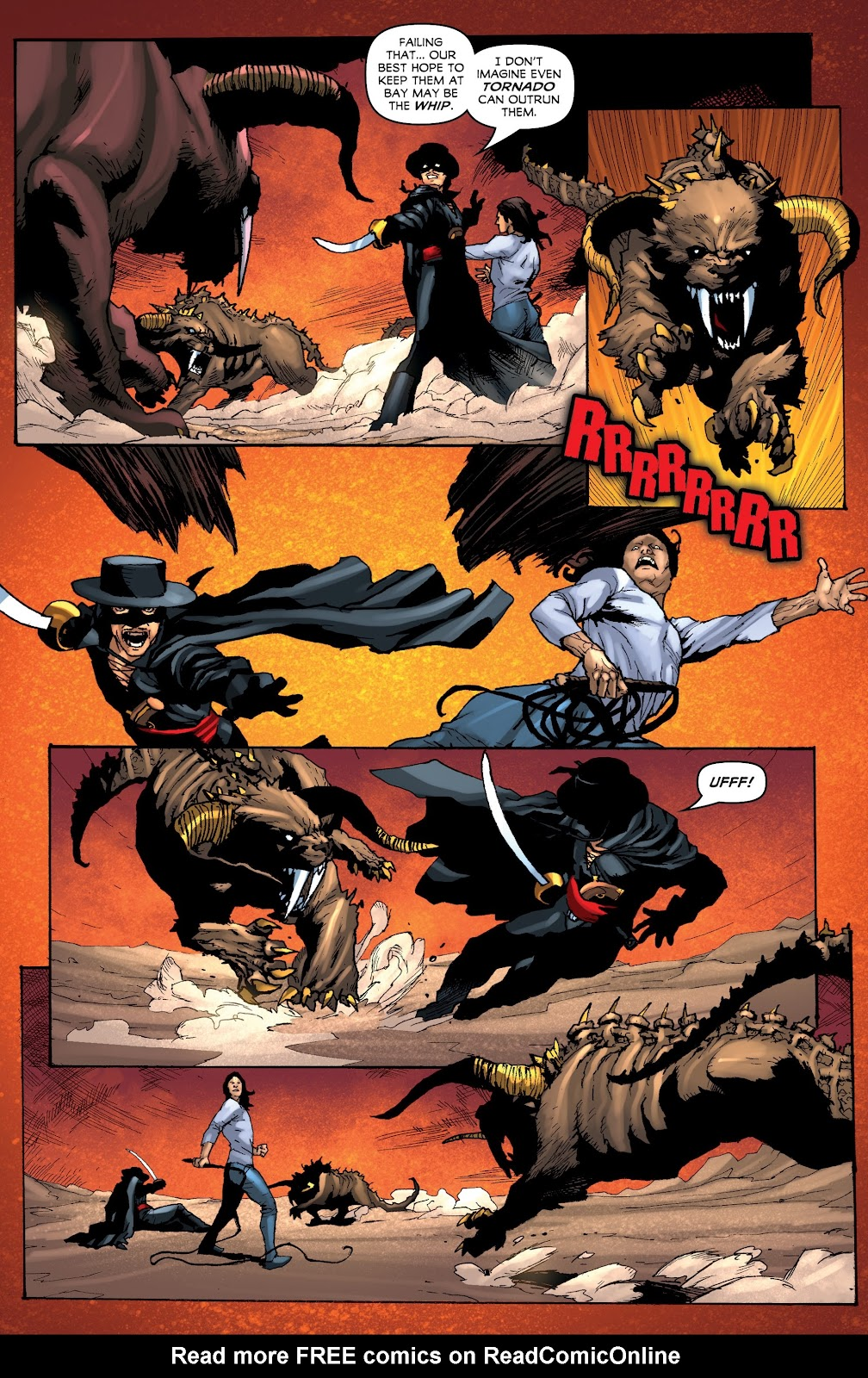 Read online Zorro: Swords of Hell comic -  Issue #3 - 4