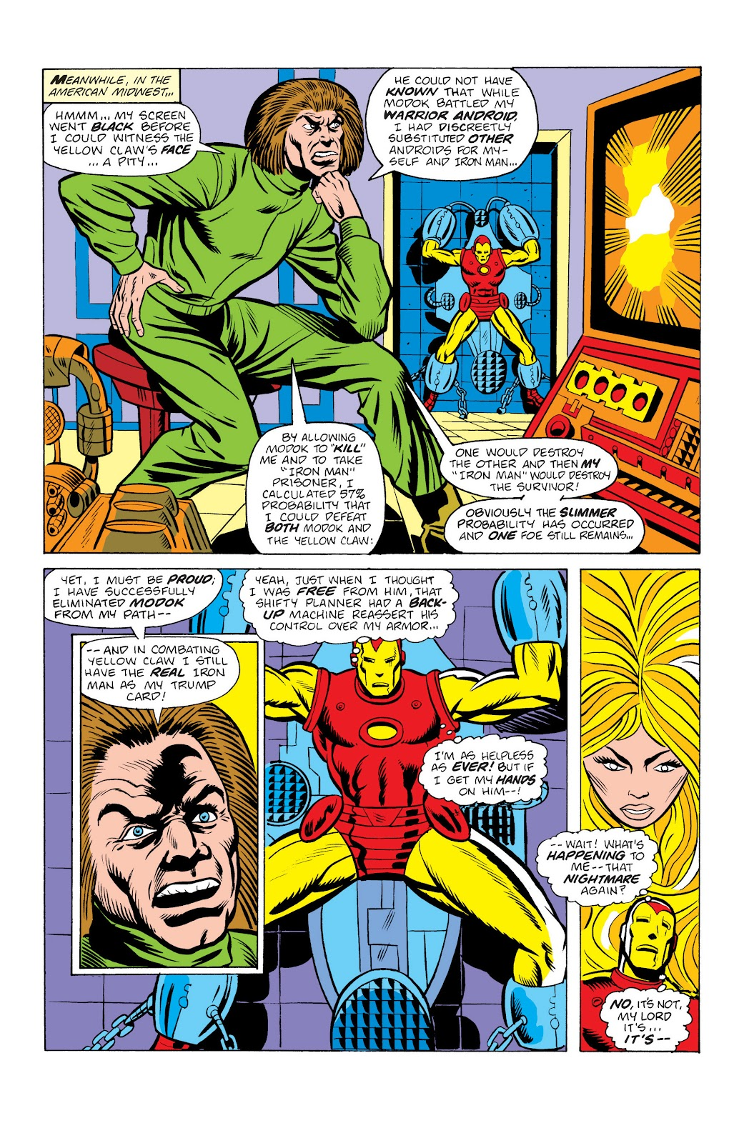 Read online Marvel Masterworks: The Invincible Iron Man comic -  Issue # TPB 10 (Part 2) - 52