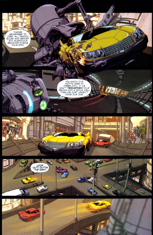 Read online Transformers Armada comic -  Issue #1 - 7