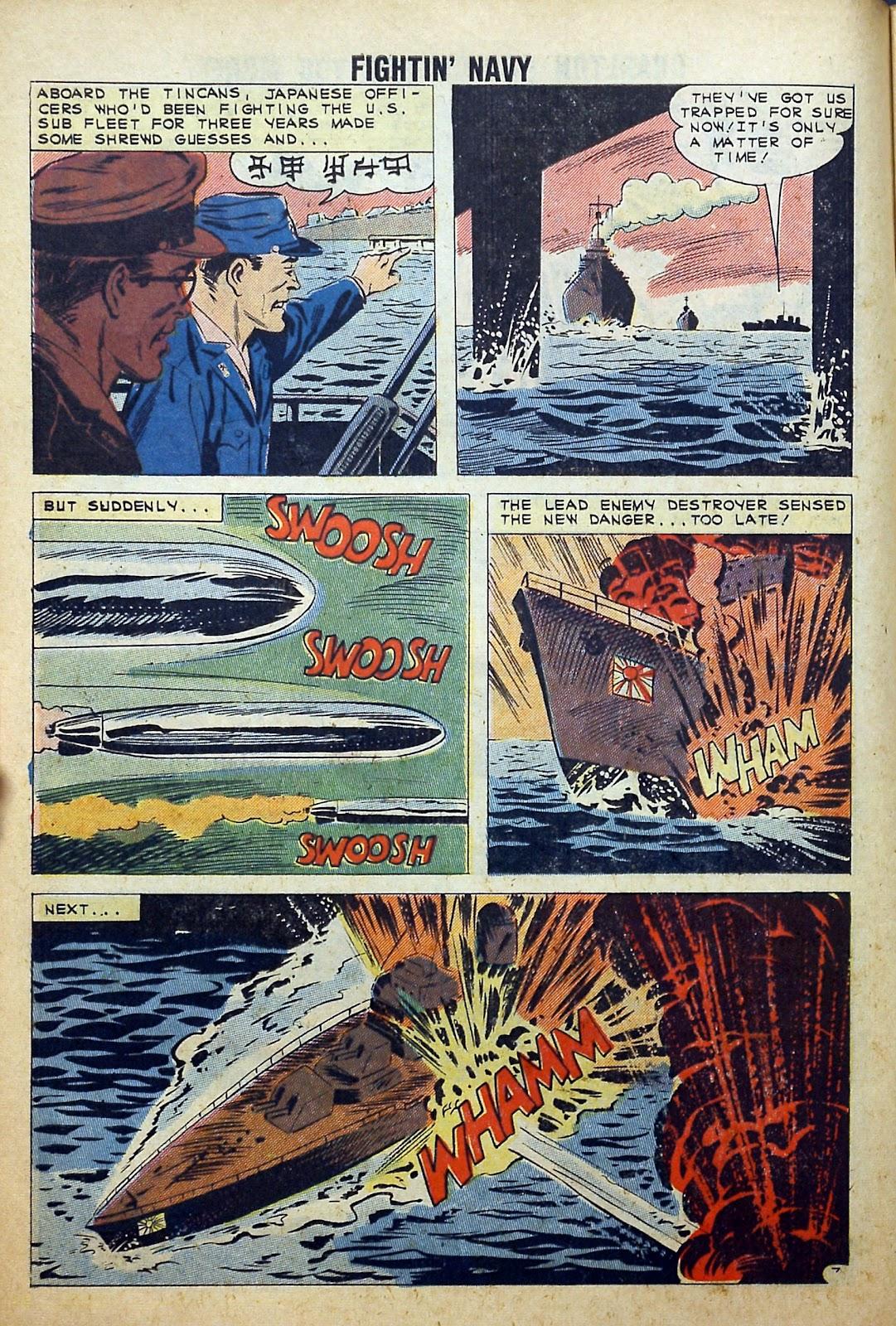 Read online Fightin' Navy comic -  Issue #99 - 10