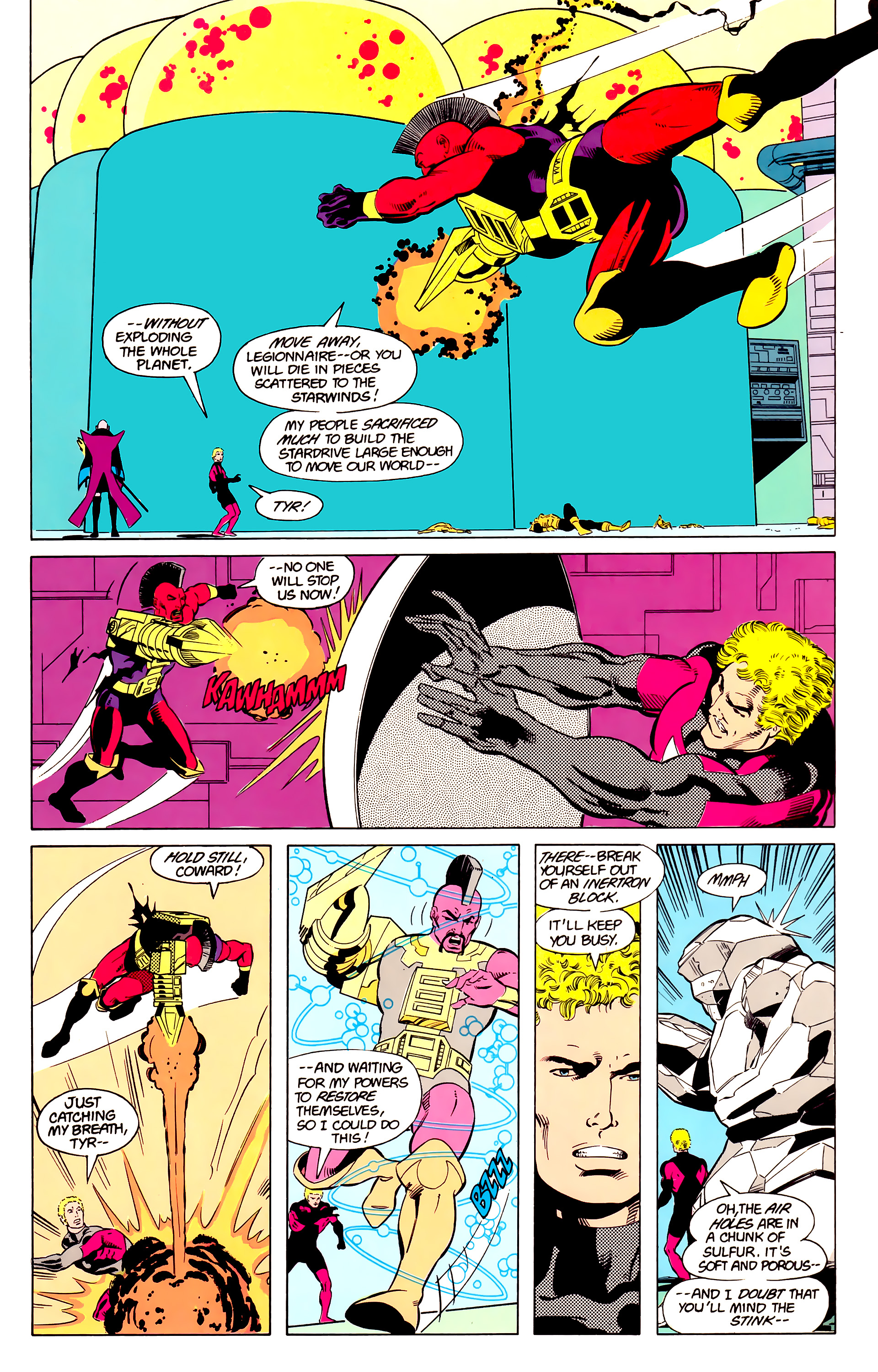Legion of Super-Heroes (1984) 20 Page 19