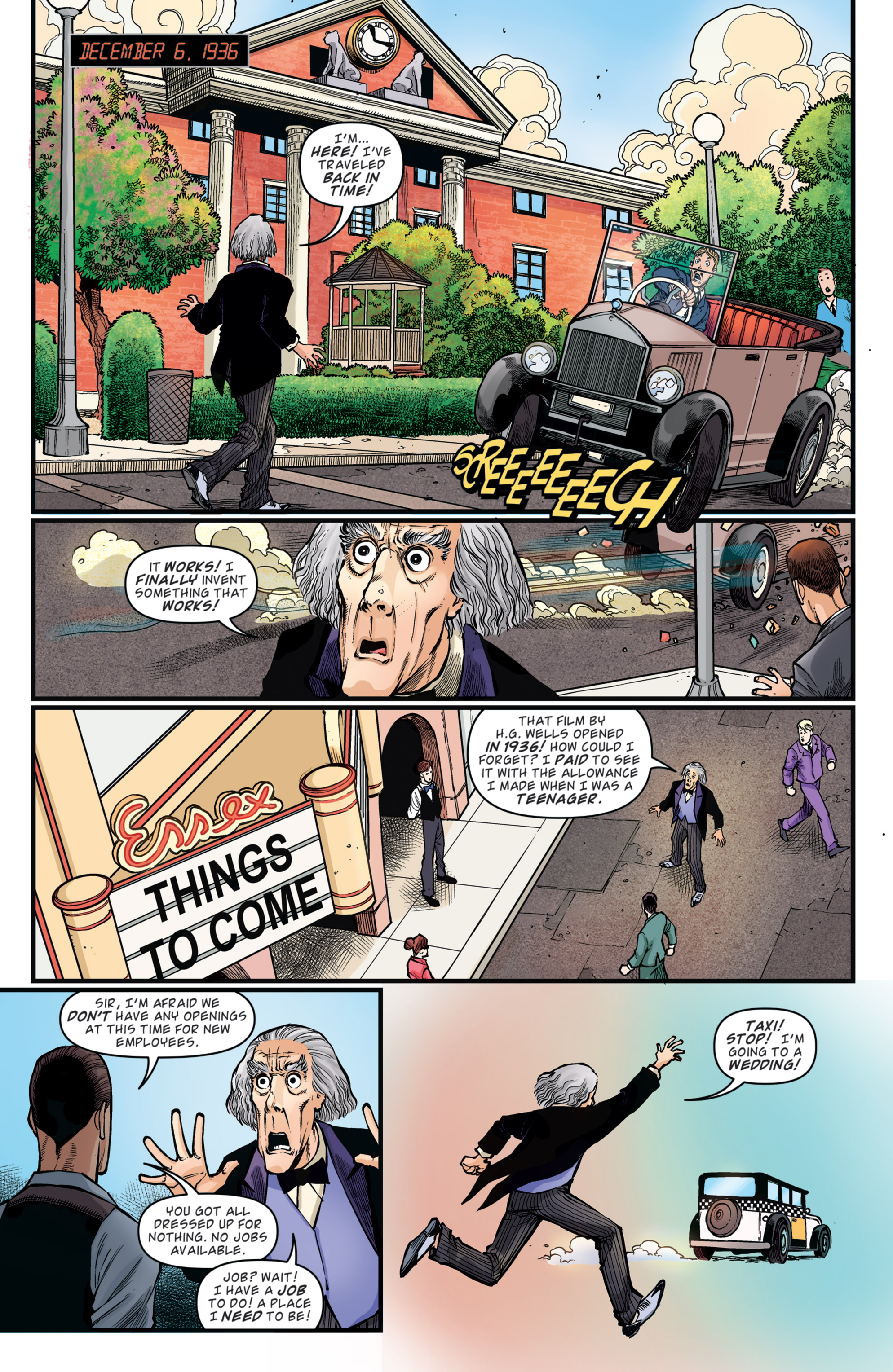 Read online Back to the Future: Biff to the Future comic -  Issue #5 - 16