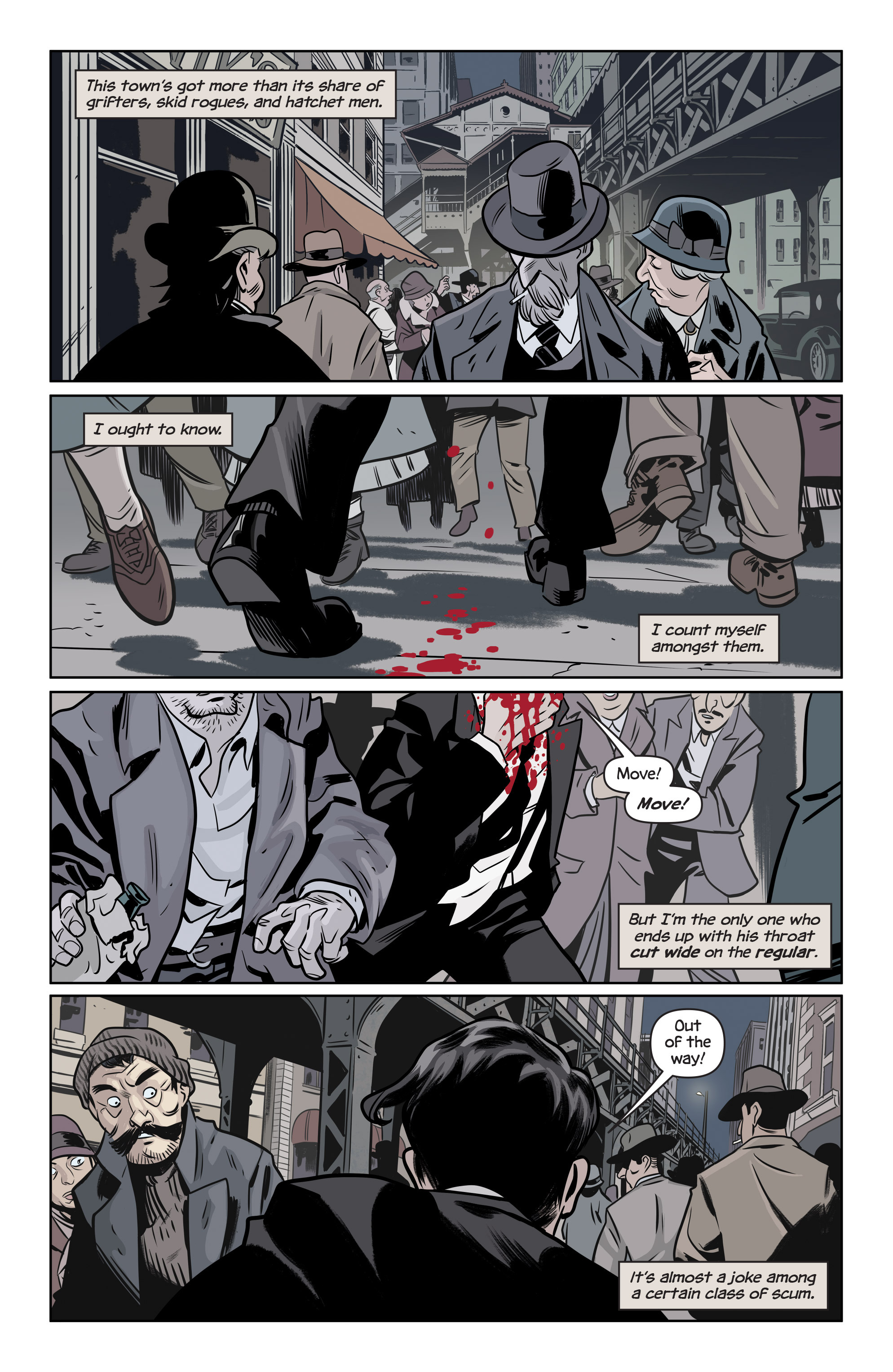 Read online The Damned comic -  Issue #1 - 3