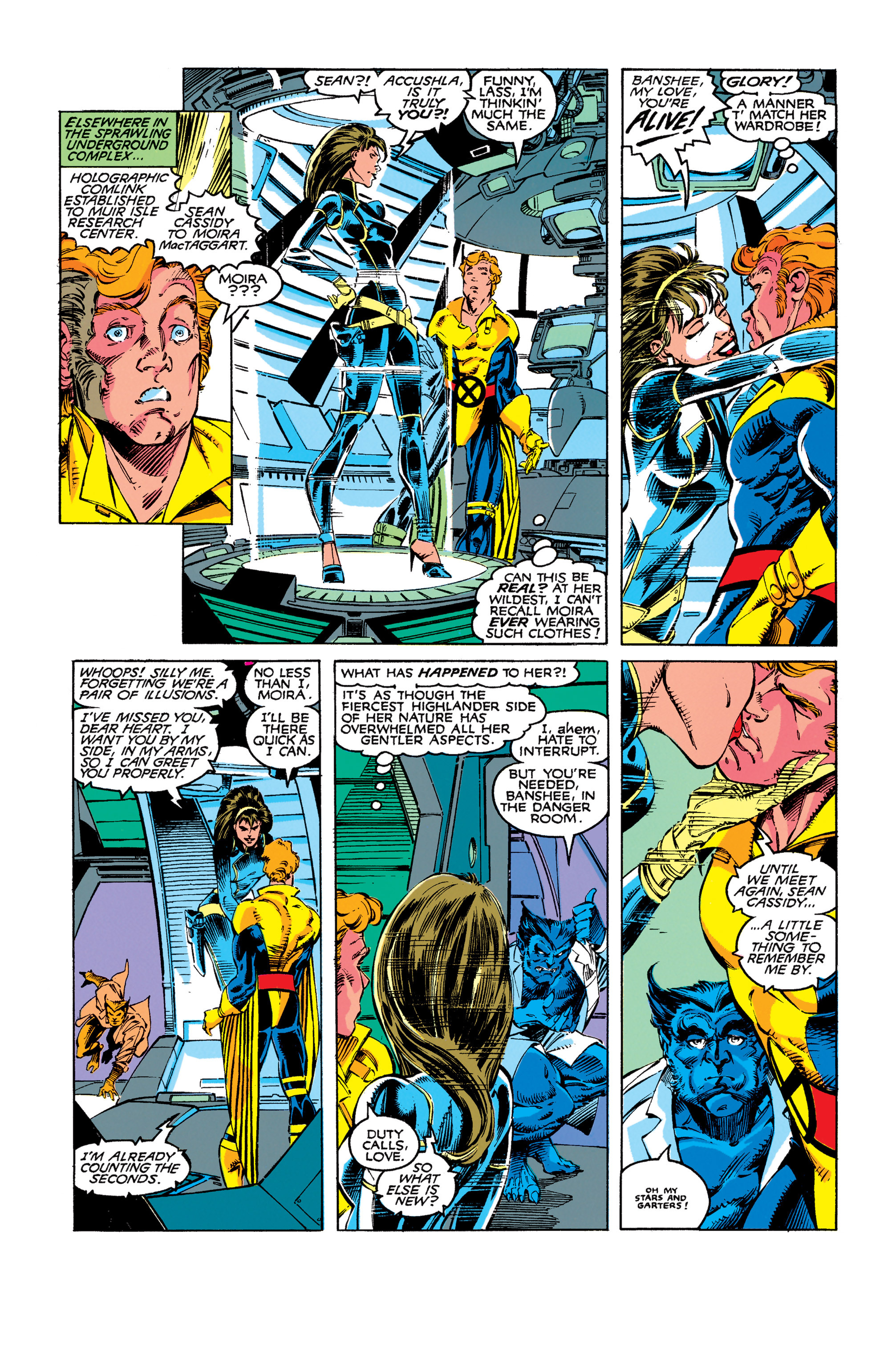 Read online Uncanny X-Men (1963) comic -  Issue #273 - 10