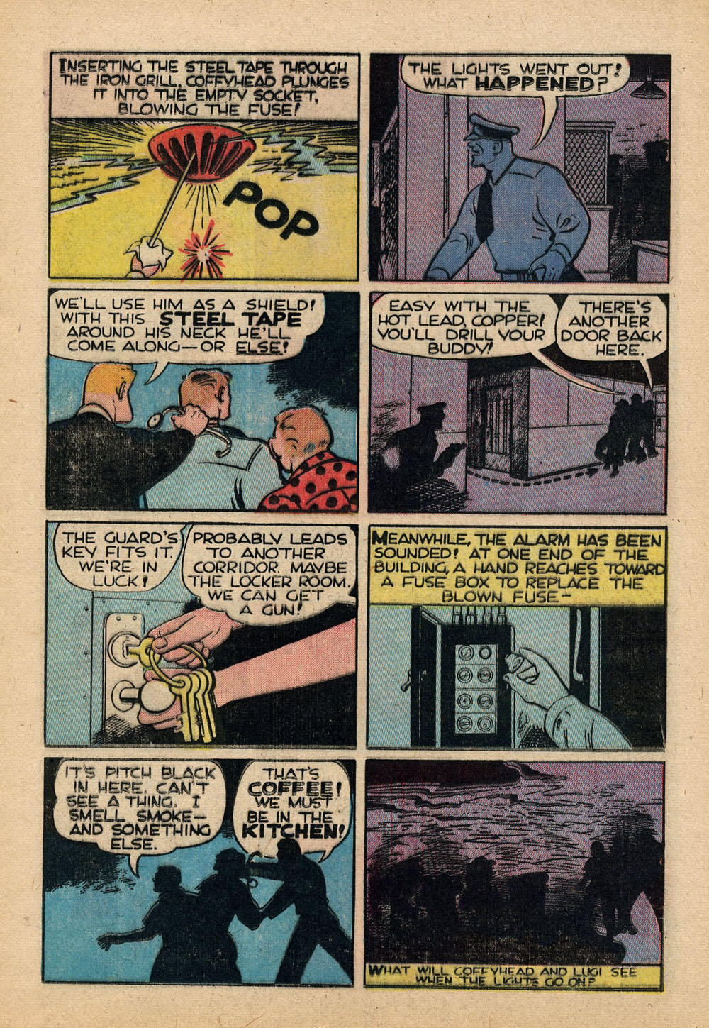 small resolution of  dick tracy 1950 issue 48 20 english 13