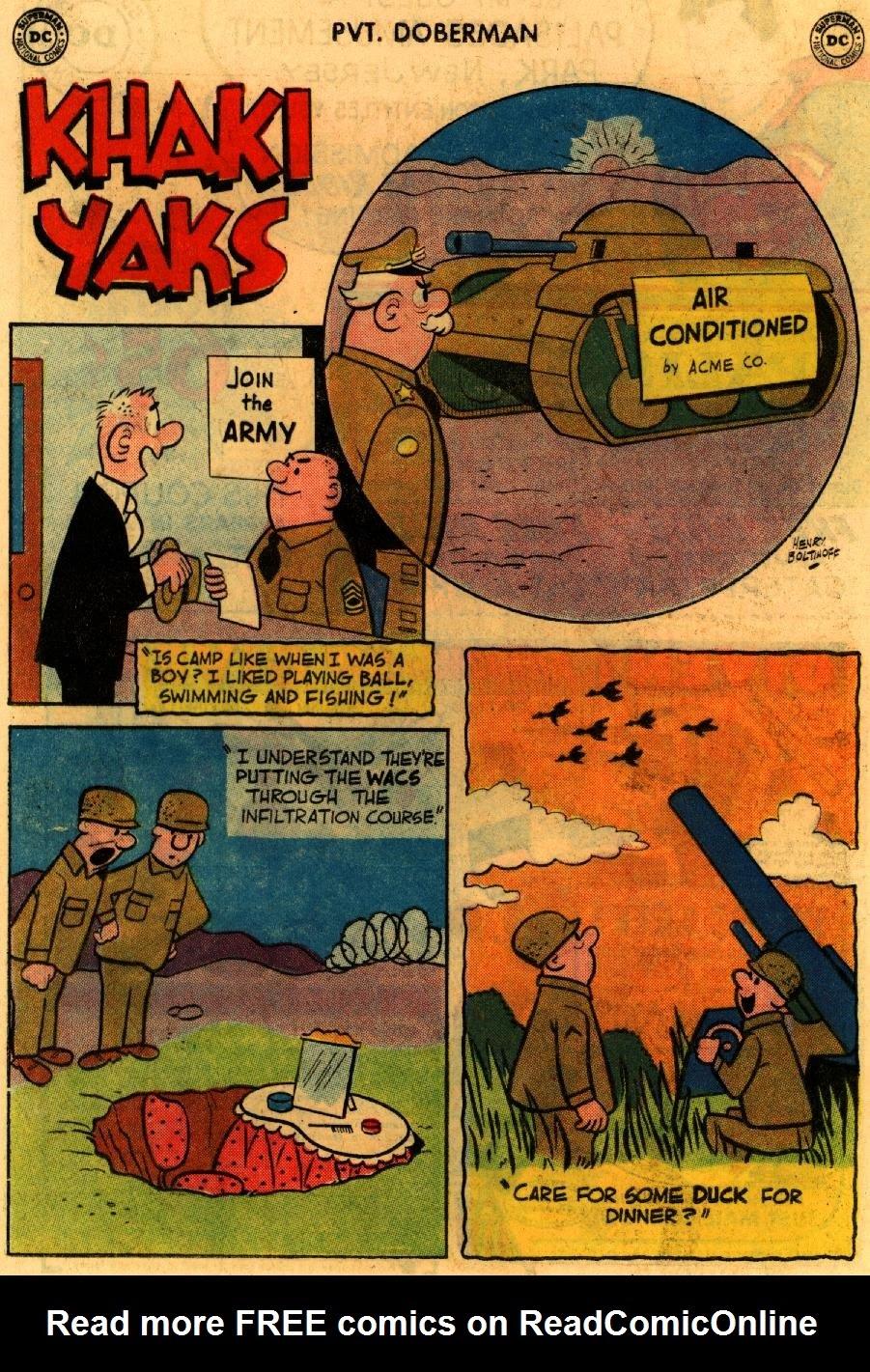 Sgt. Bilko's Pvt. Doberman issue 9 - Page 24