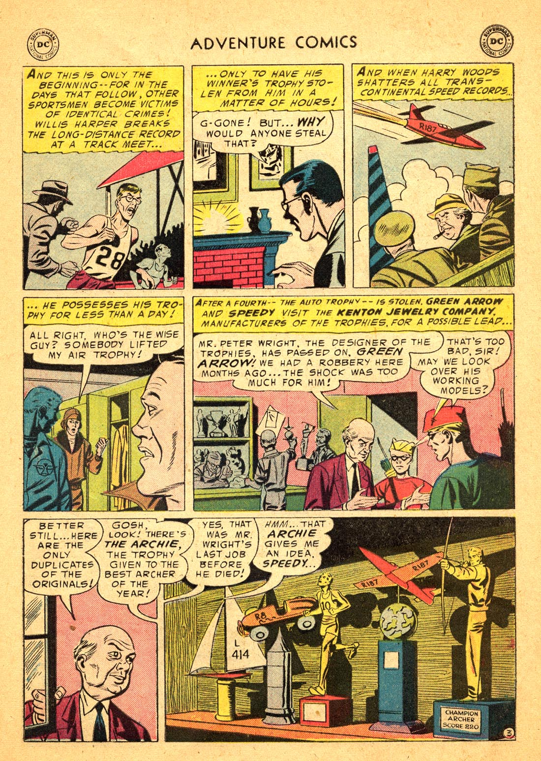 Read online Adventure Comics (1938) comic -  Issue #217 - 29
