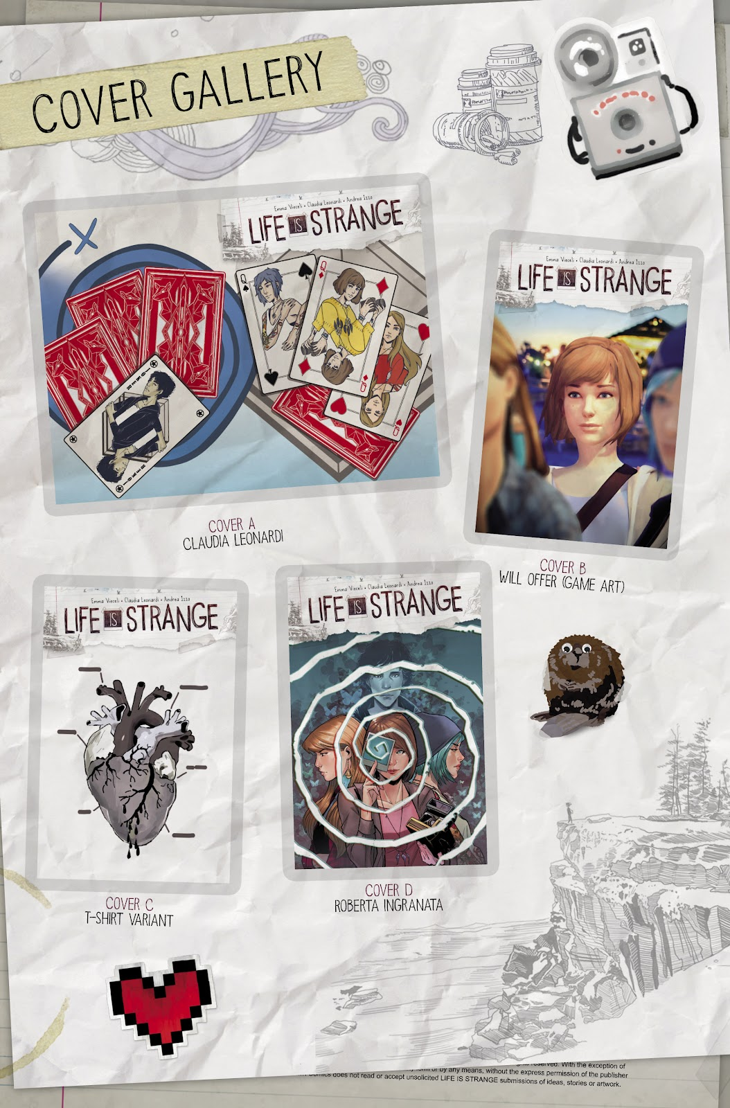 Read online Life is Strange comic -  Issue #9 - 32