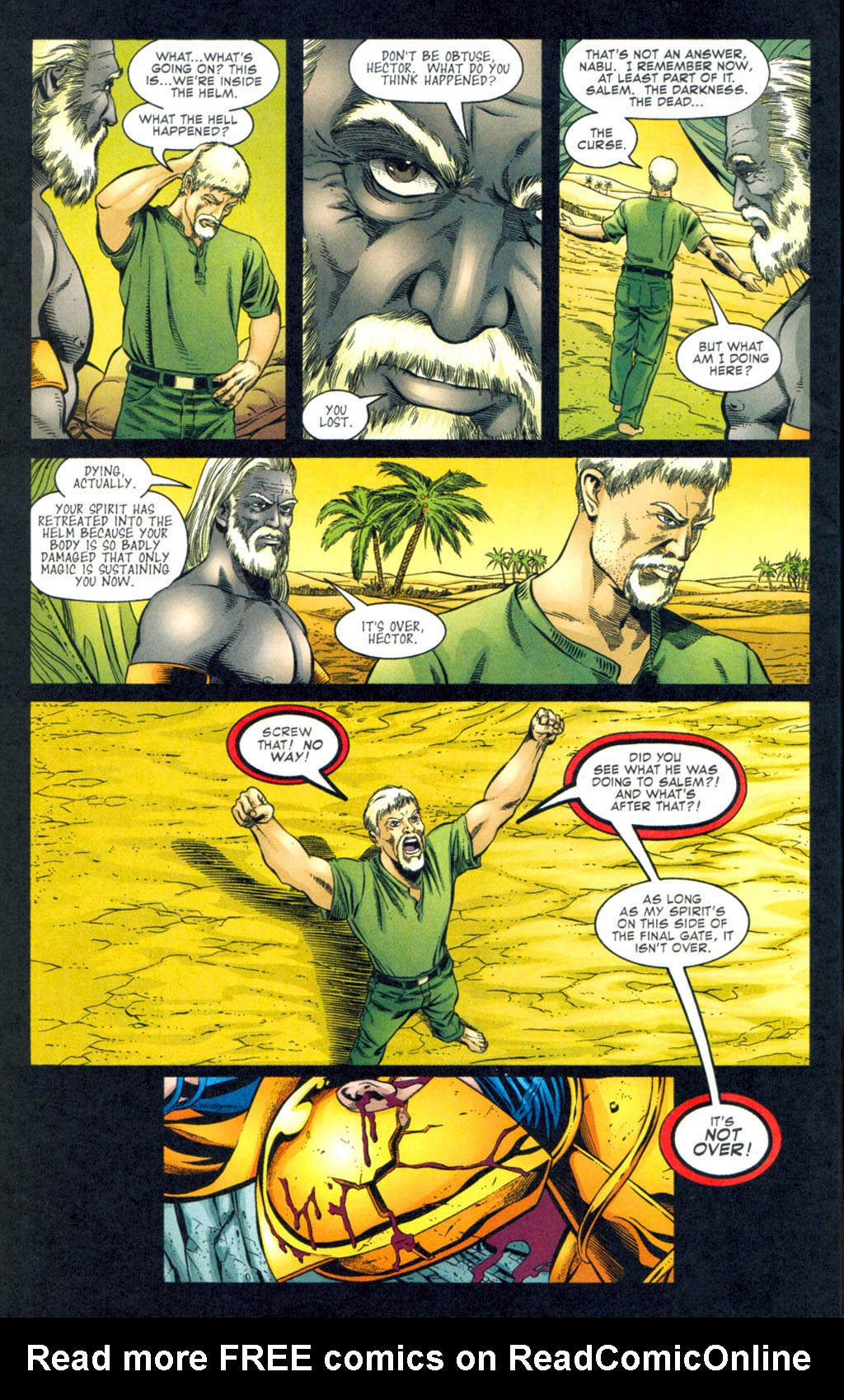 Read online Doctor Fate (2003) comic -  Issue #4 - 9