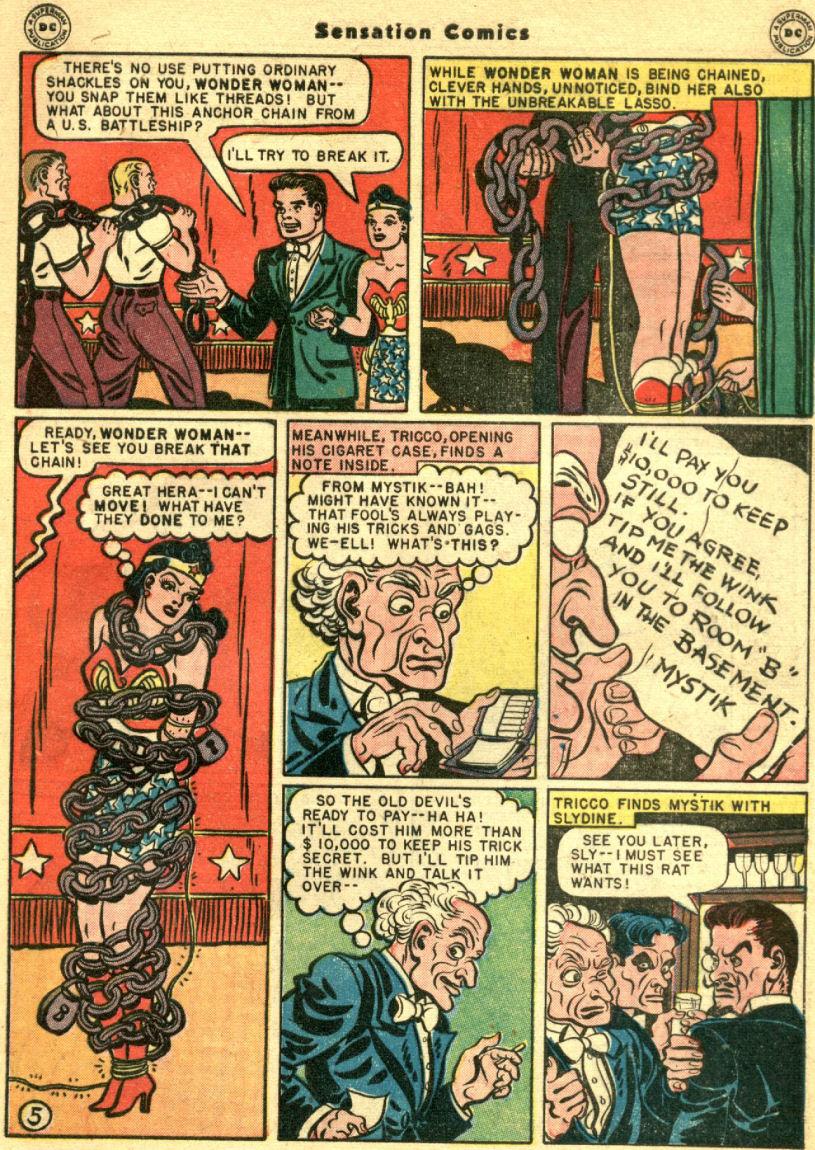 Read online Sensation (Mystery) Comics comic -  Issue #69 - 9
