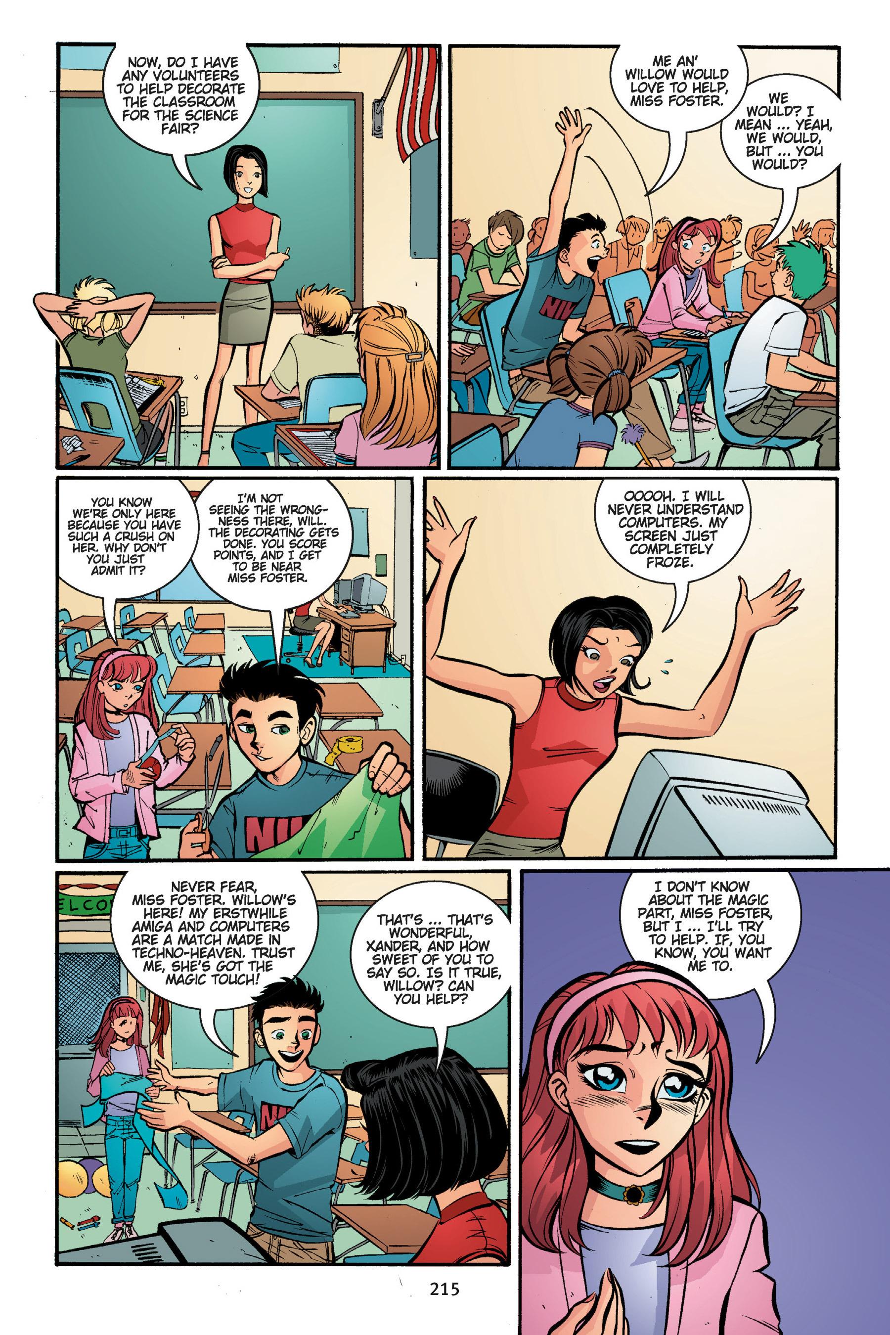 Read online Buffy the Vampire Slayer: Omnibus comic -  Issue # TPB 5 - 215