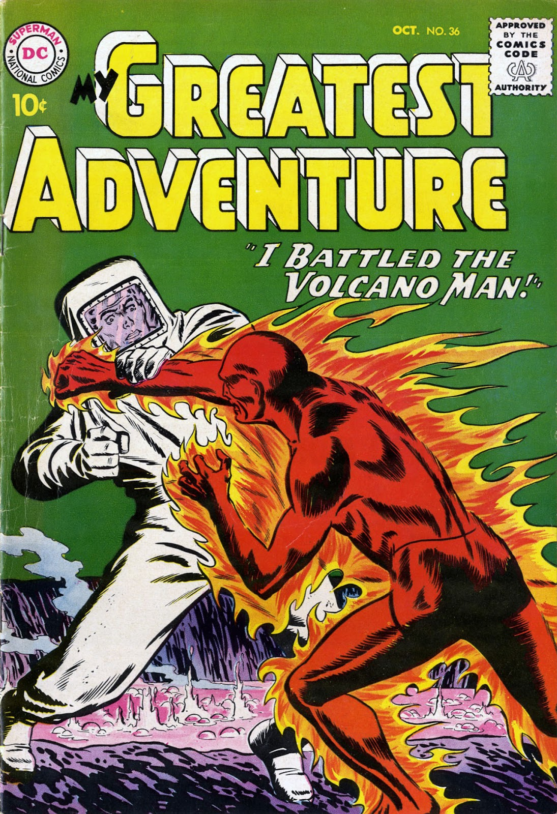 My Greatest Adventure (1955) issue 36 - Page 1