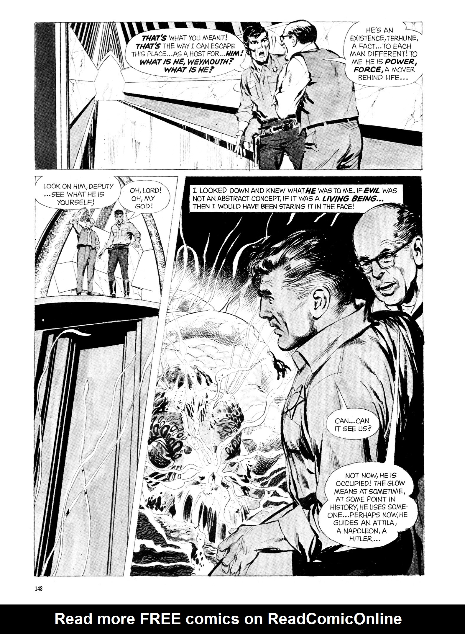 Read online Eerie Archives comic -  Issue # TPB 20 - 148