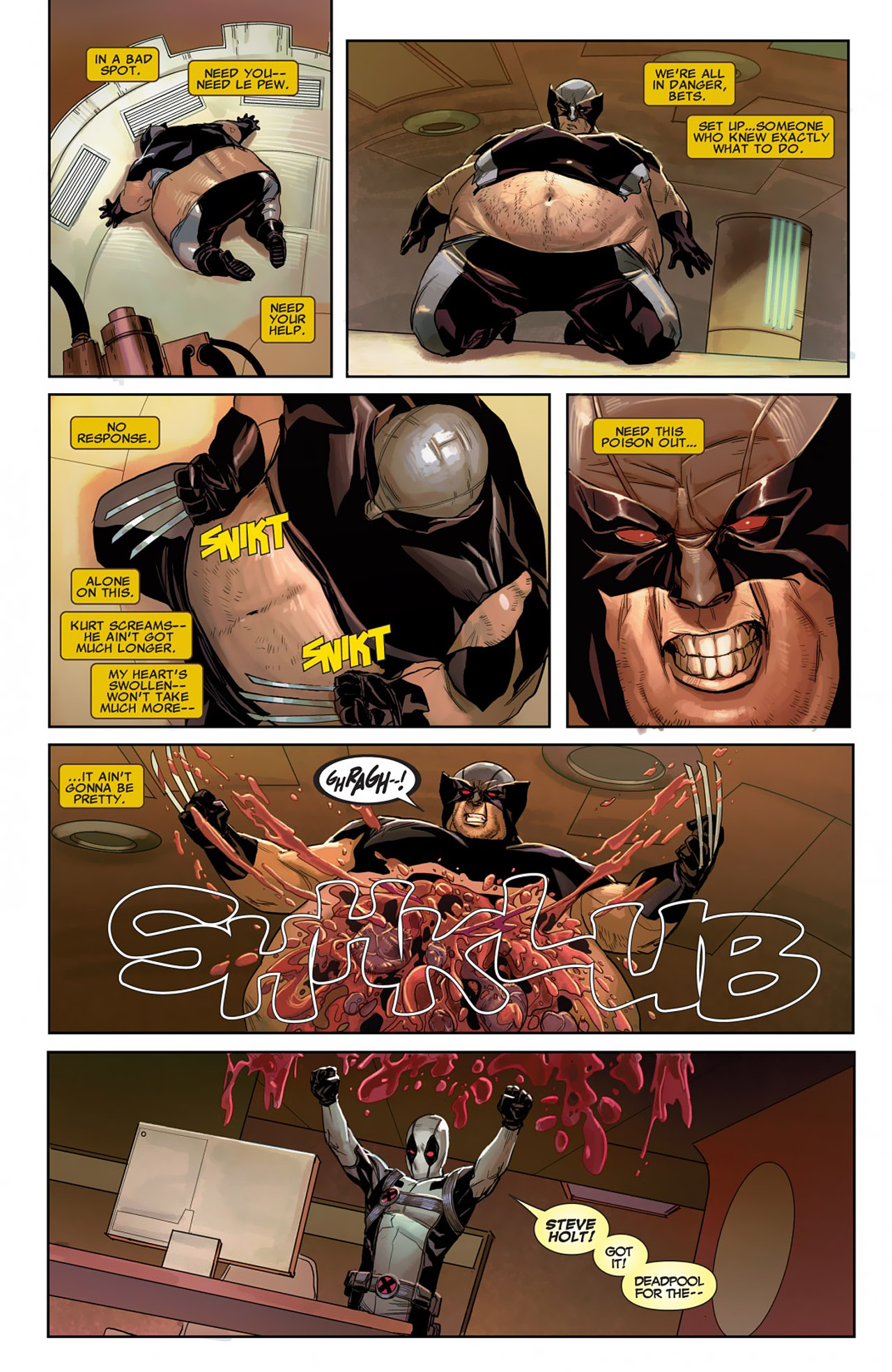 Read online Uncanny X-Force (2010) comic -  Issue #26 - 14