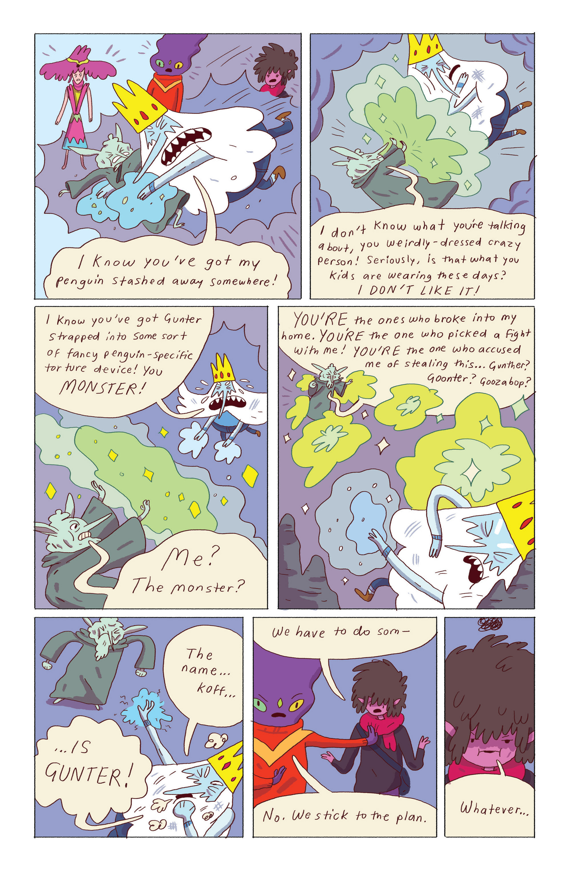 Read online Adventure Time: Ice King comic -  Issue #5 - 20