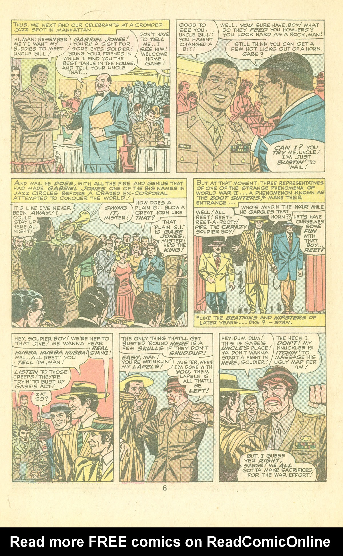 Read online Sgt. Fury comic -  Issue #126 - 8