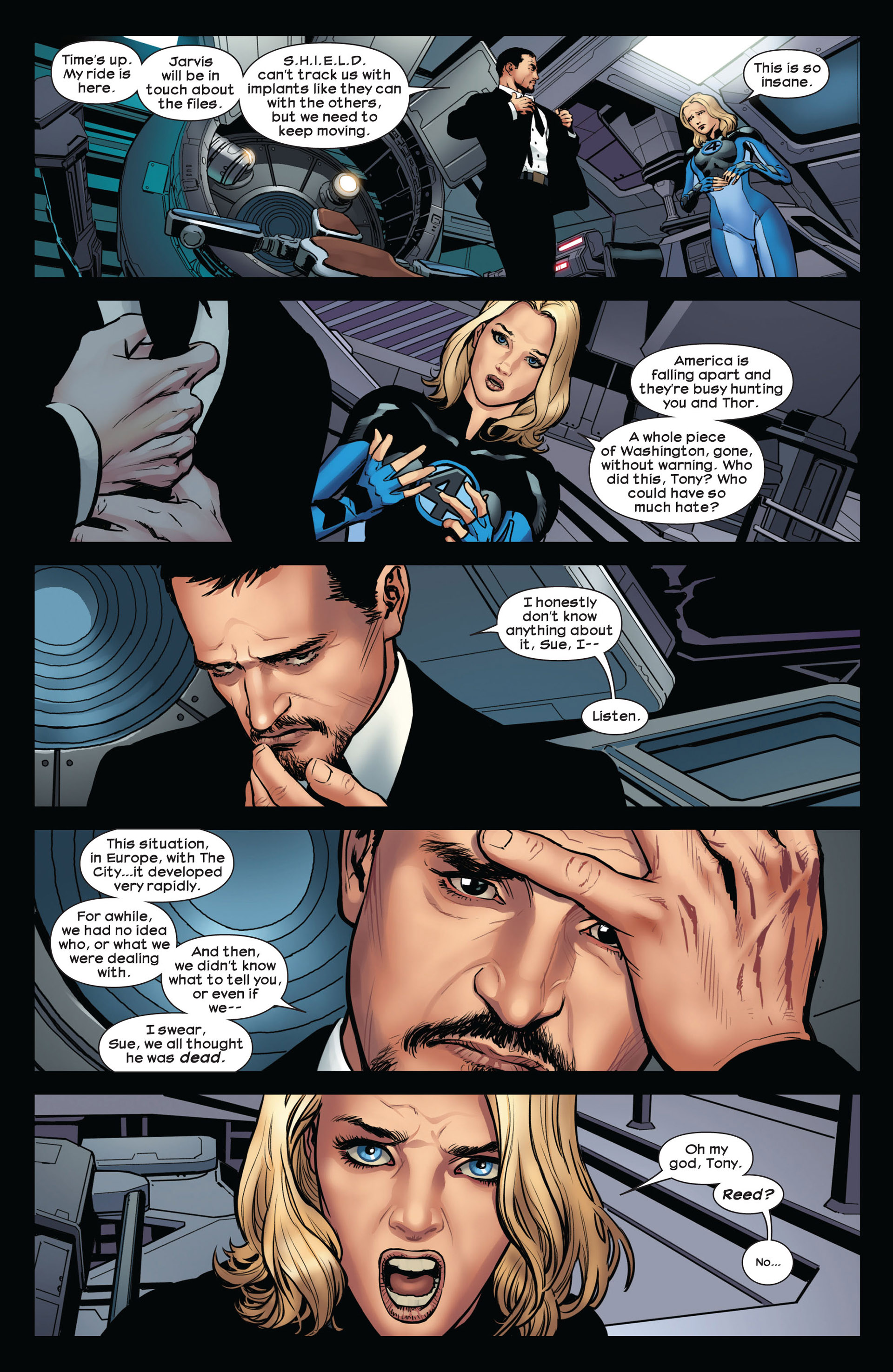 Read online Ultimate Comics Ultimates comic -  Issue #10 - 20