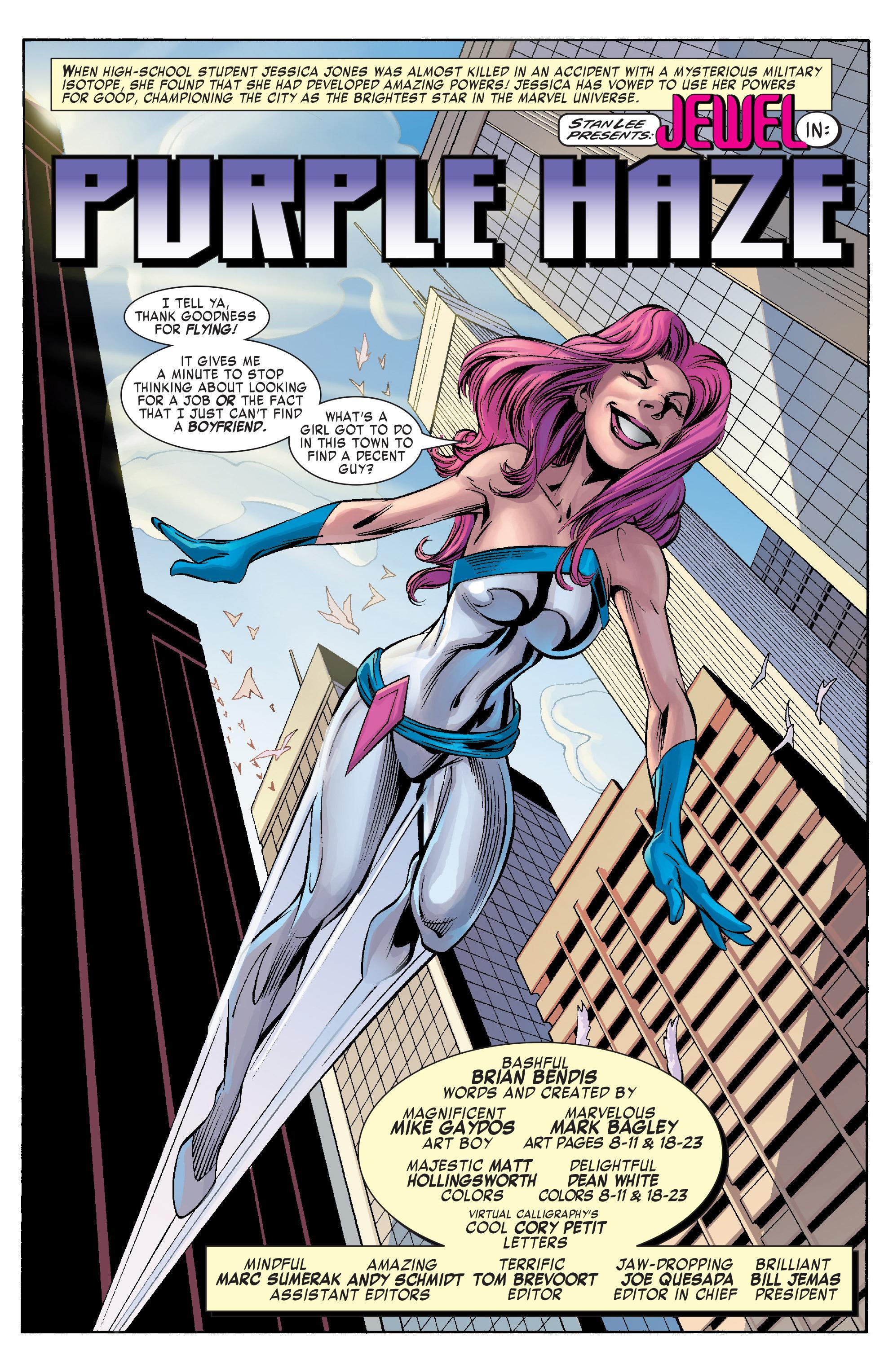 Read online Alias comic -  Issue #25 - 8