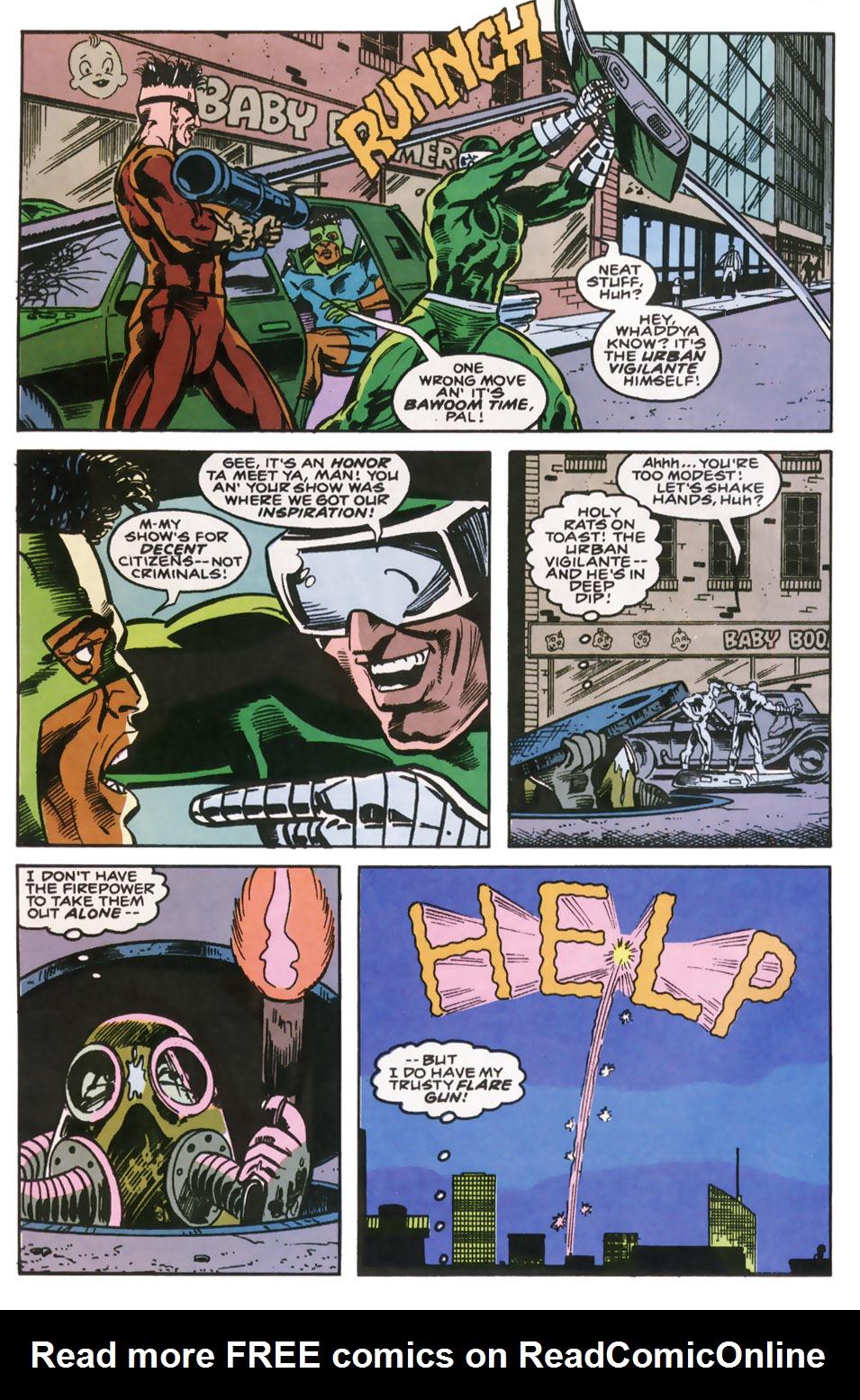 Read online Robocop (1990) comic -  Issue #10 - 14