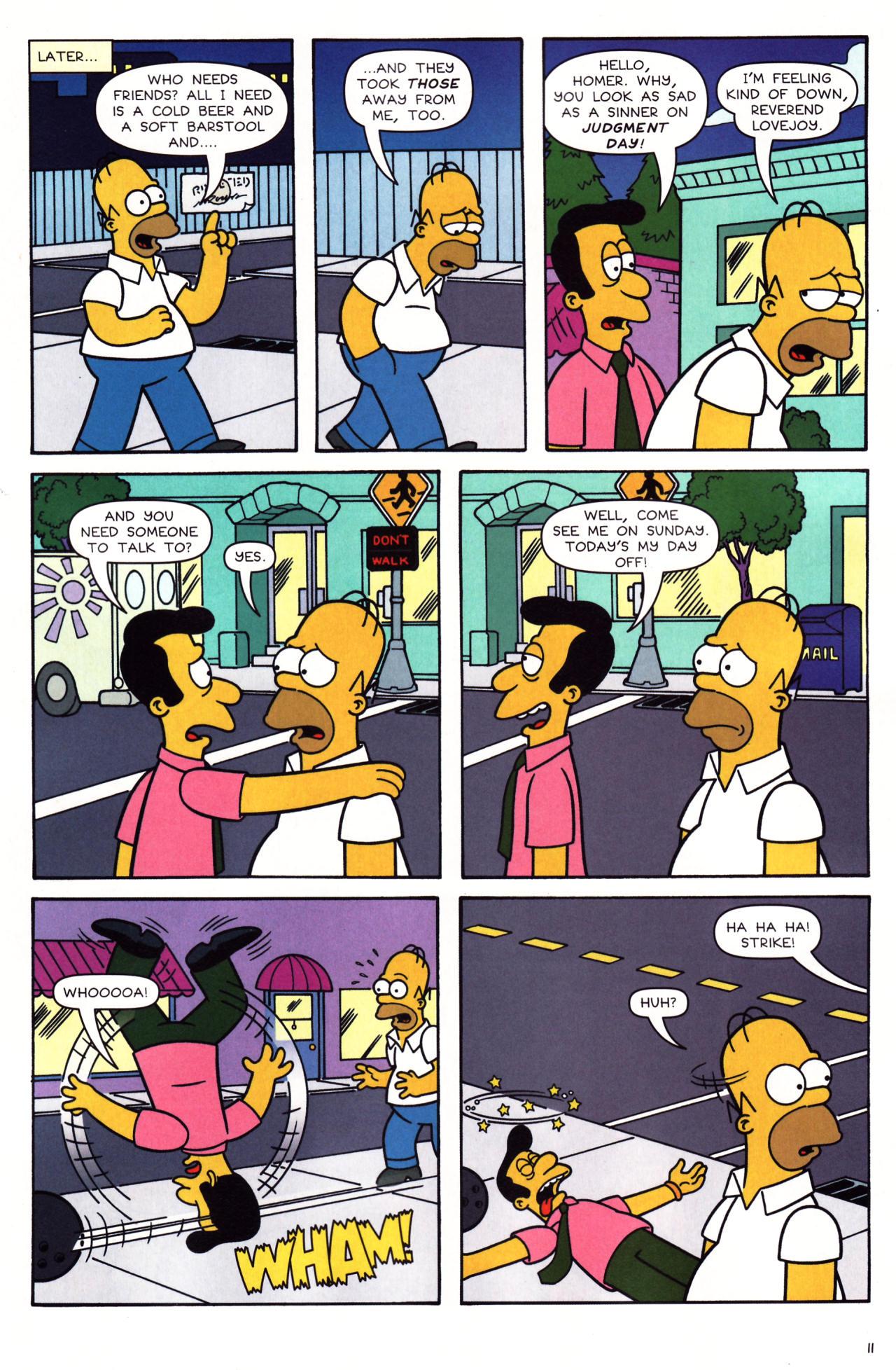 Read online Simpsons Comics comic -  Issue #136 - 9