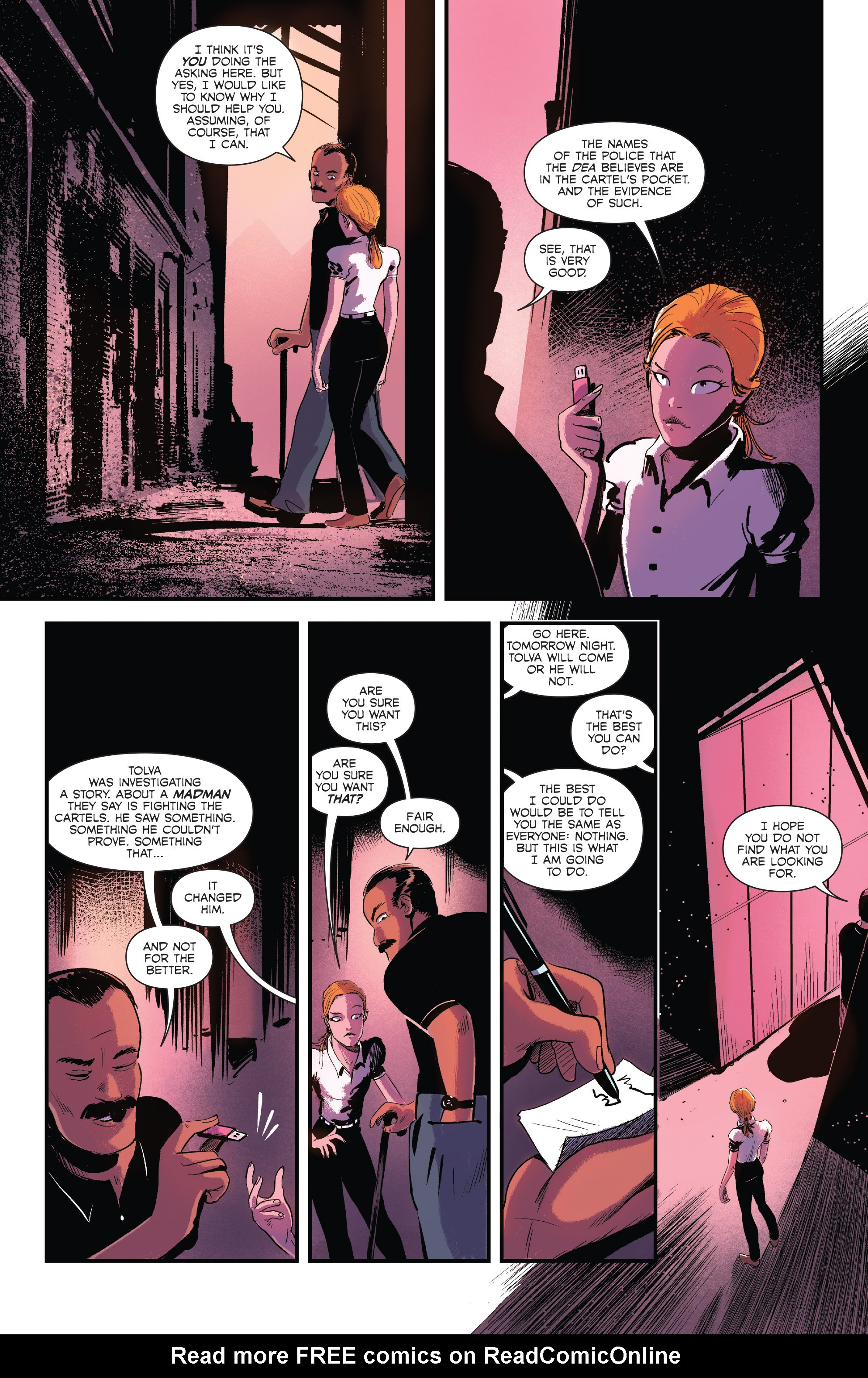 Read online Sombra comic -  Issue #1 - 19
