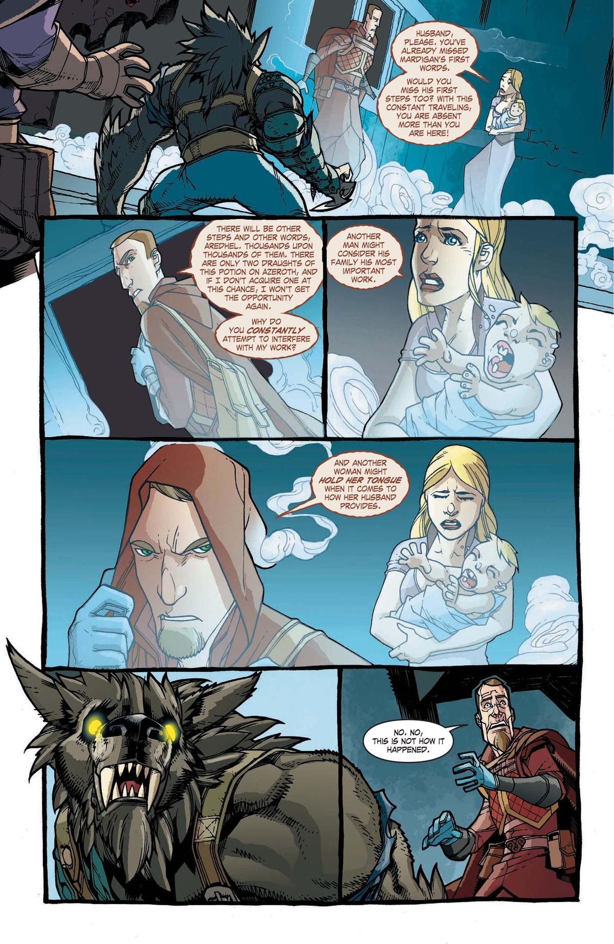 Read online World of Warcraft: Dark Riders comic -  Issue # Full - 121