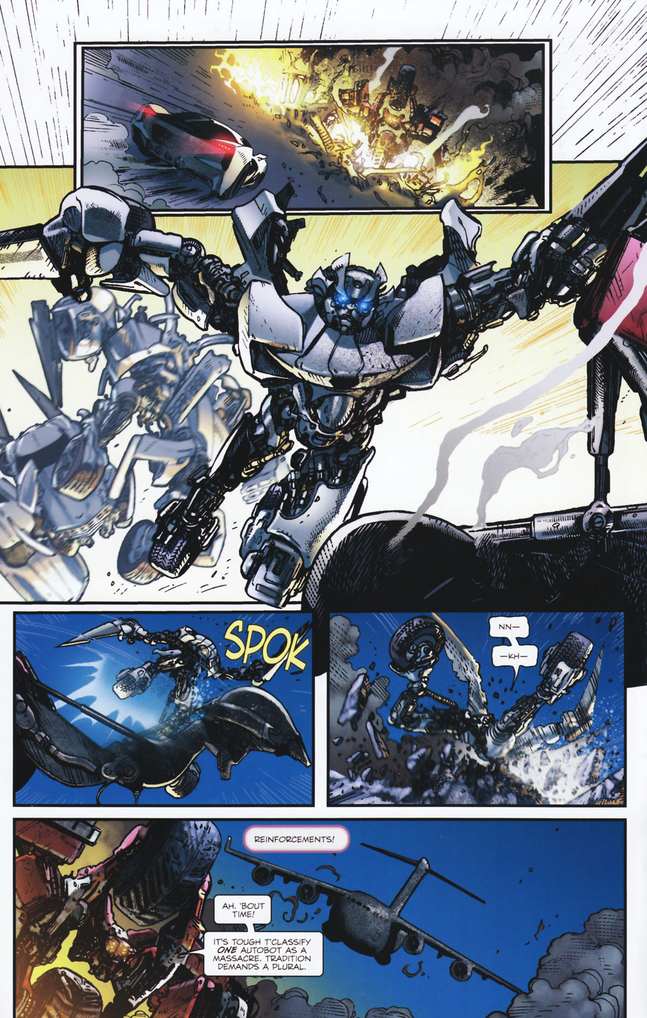 Read online Transformers: Tales of The Fallen comic -  Issue #2 - 15