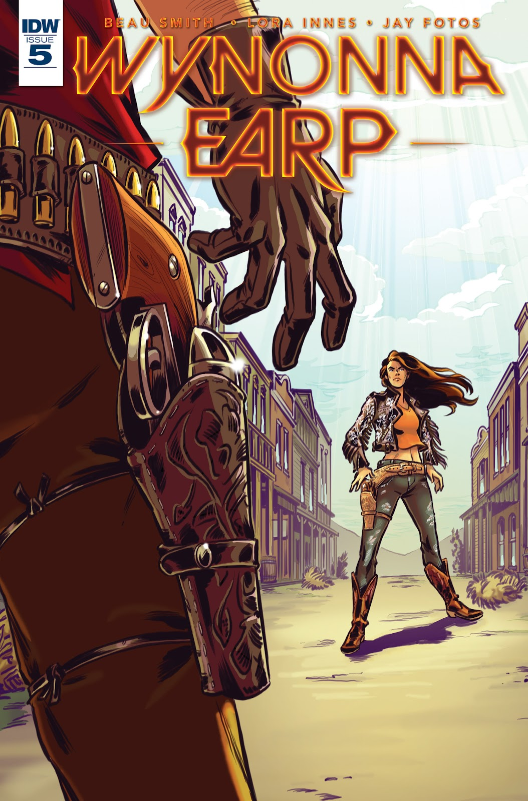 Wynonna Earp (2016) 5 Page 1