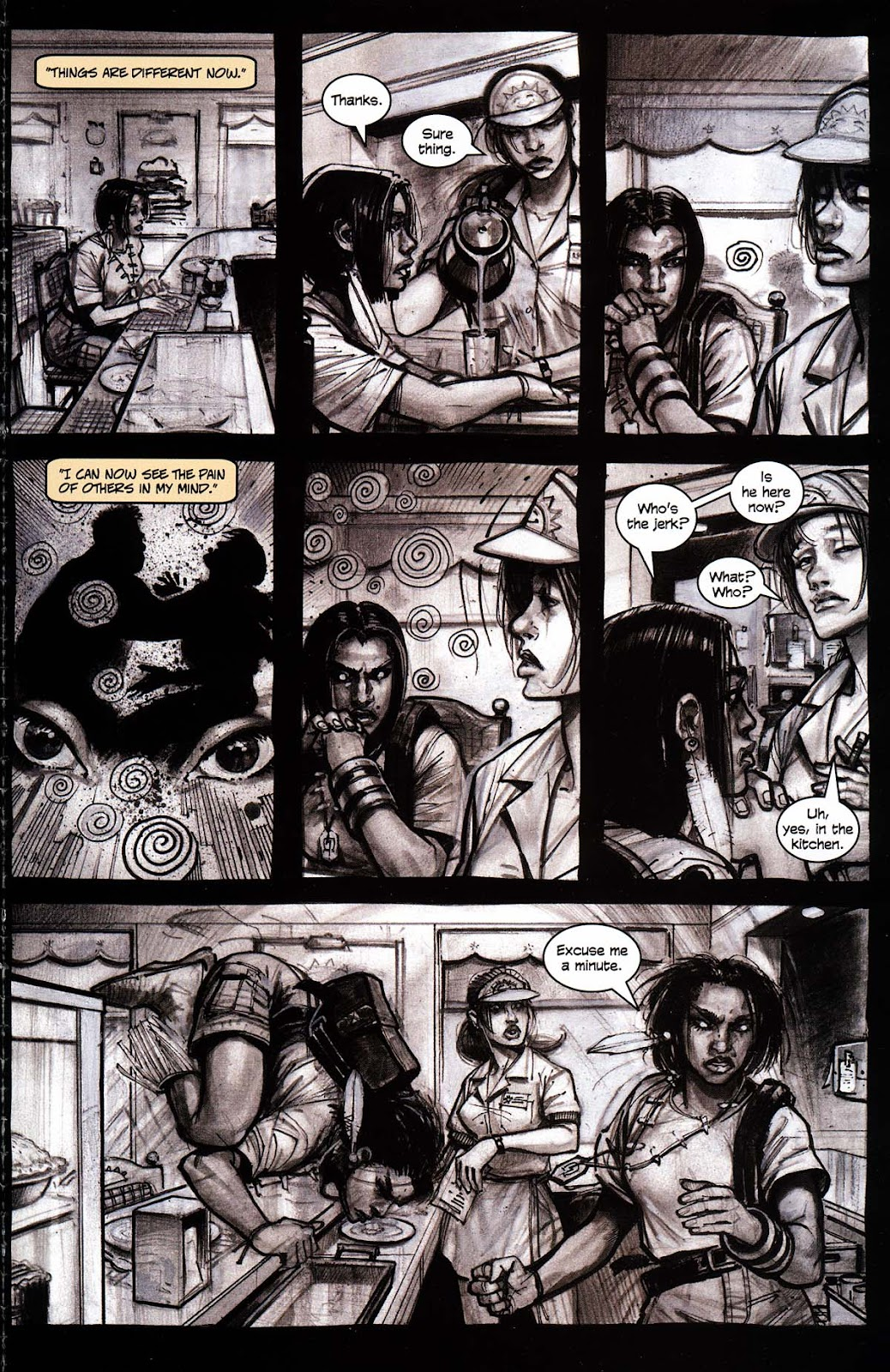 Read online Werewolf the Apocalypse comic -  Issue # Black Furies - 47