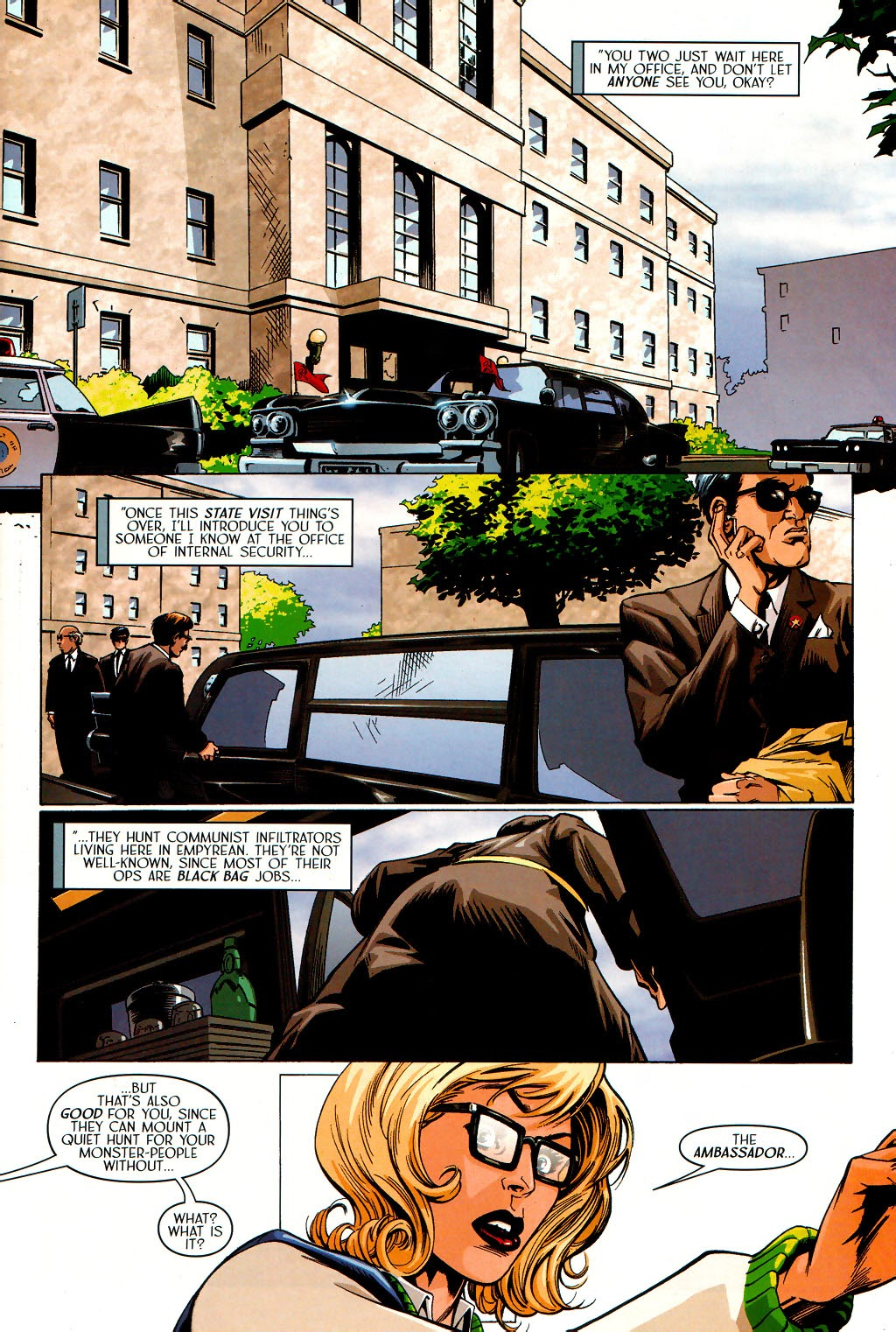 Read online Route 666 comic -  Issue #19 - 7