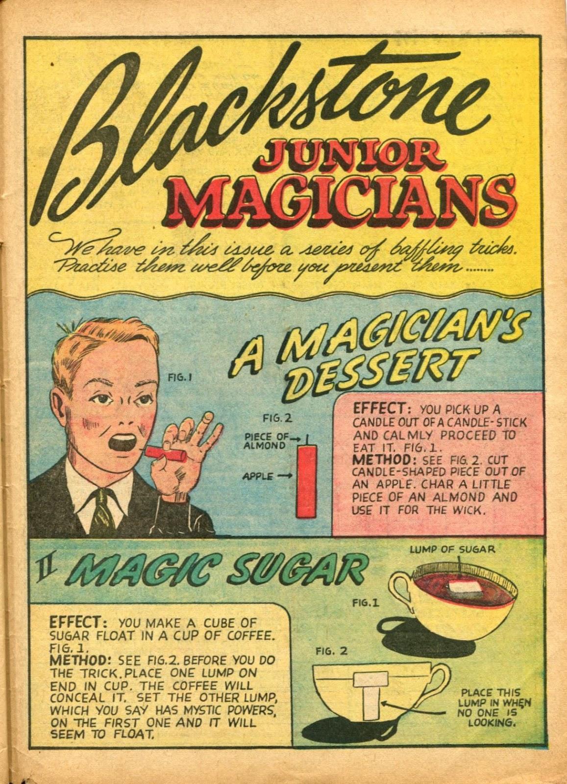Read online Super-Magician Comics comic -  Issue #5 - 60