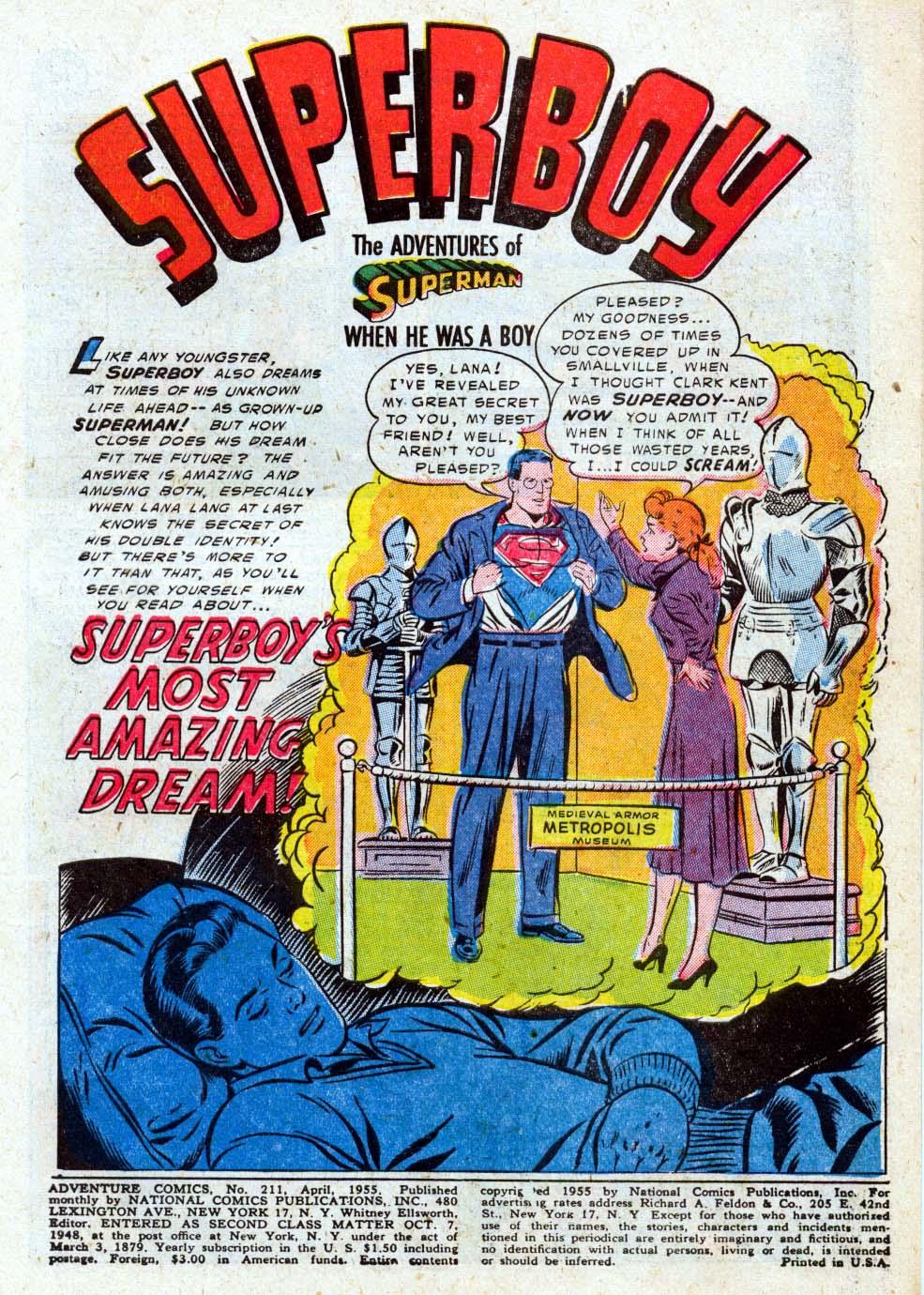 Read online Adventure Comics (1938) comic -  Issue #211 - 3