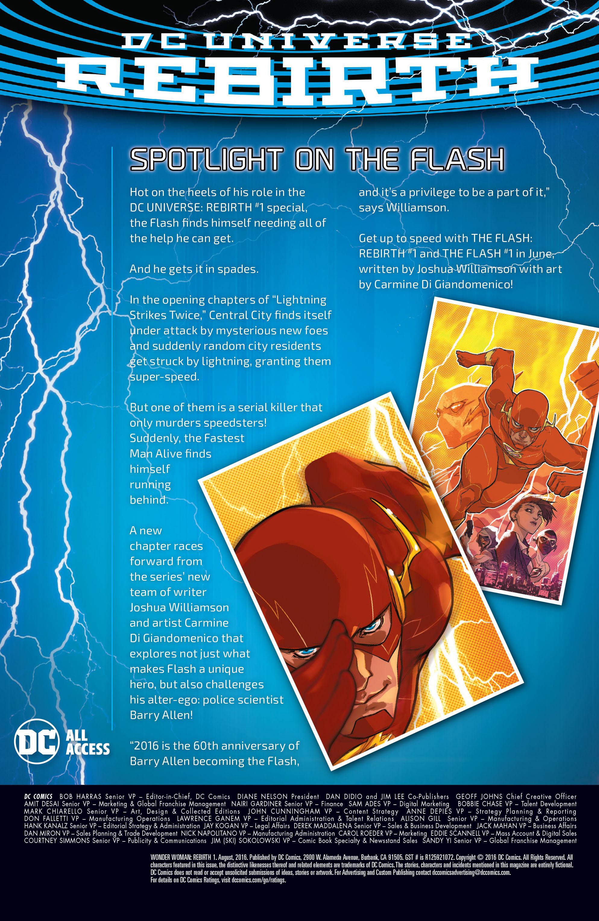 Read online Wonder Woman: Rebirth comic -  Issue # Full - 27