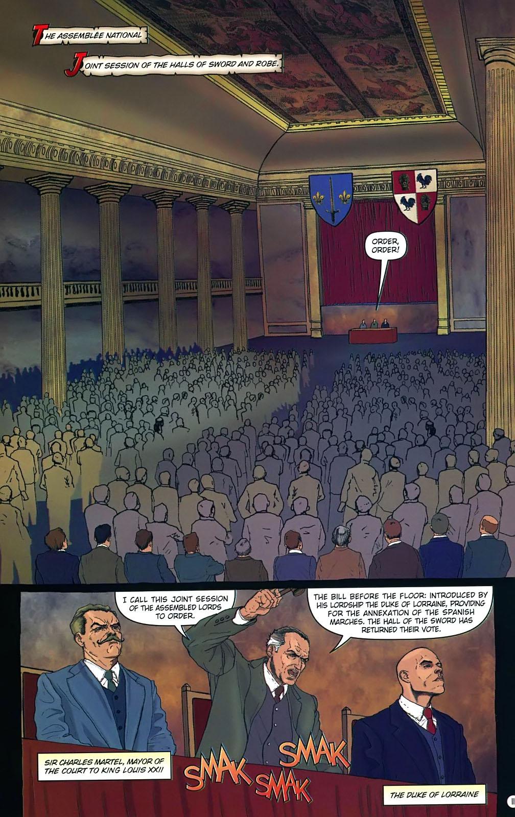 Read online Rex Mundi comic -  Issue #15 - 15