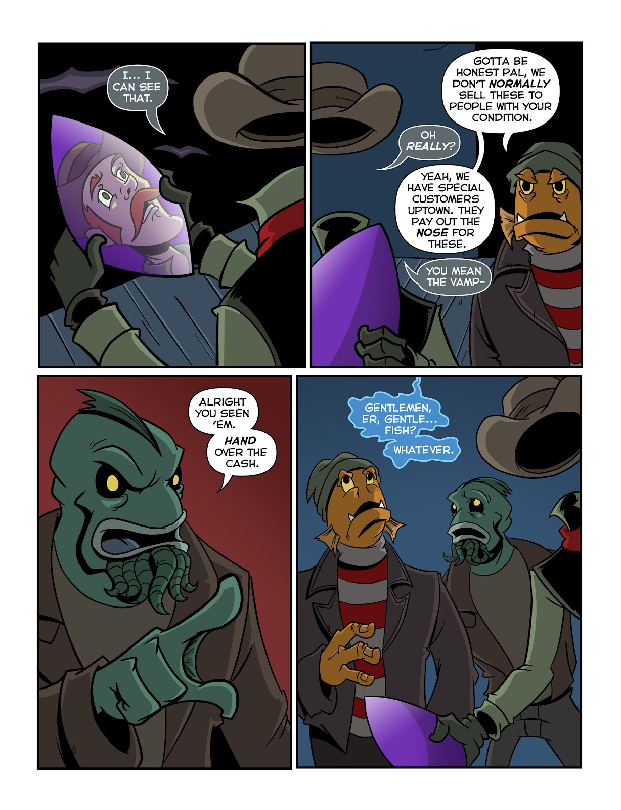 Read online The Haunter comic -  Issue #2 - 6