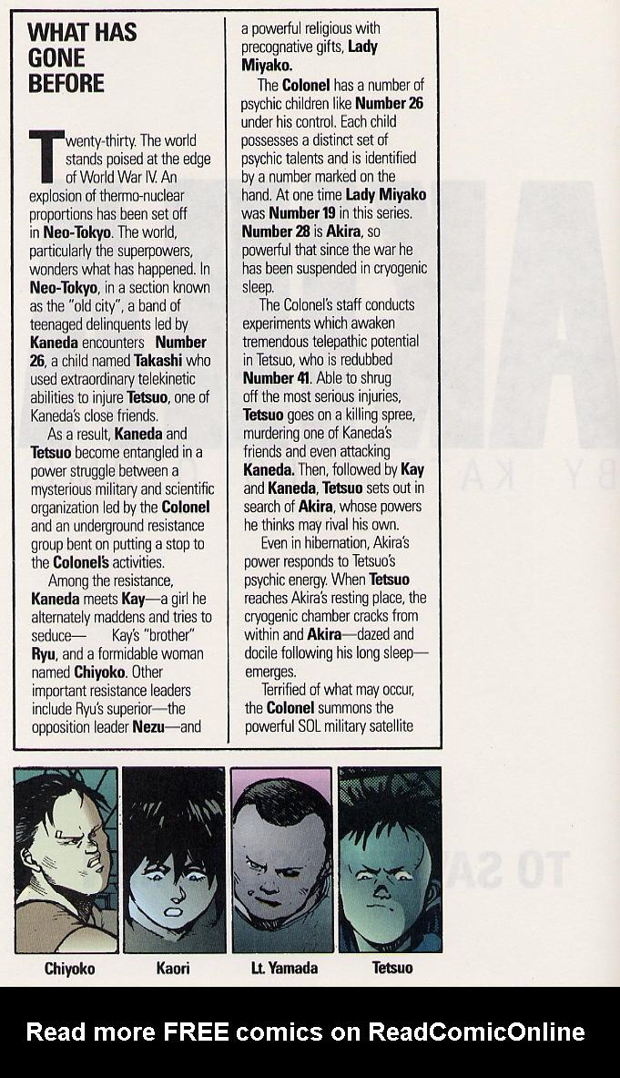 Read online Akira comic -  Issue #19 - 5