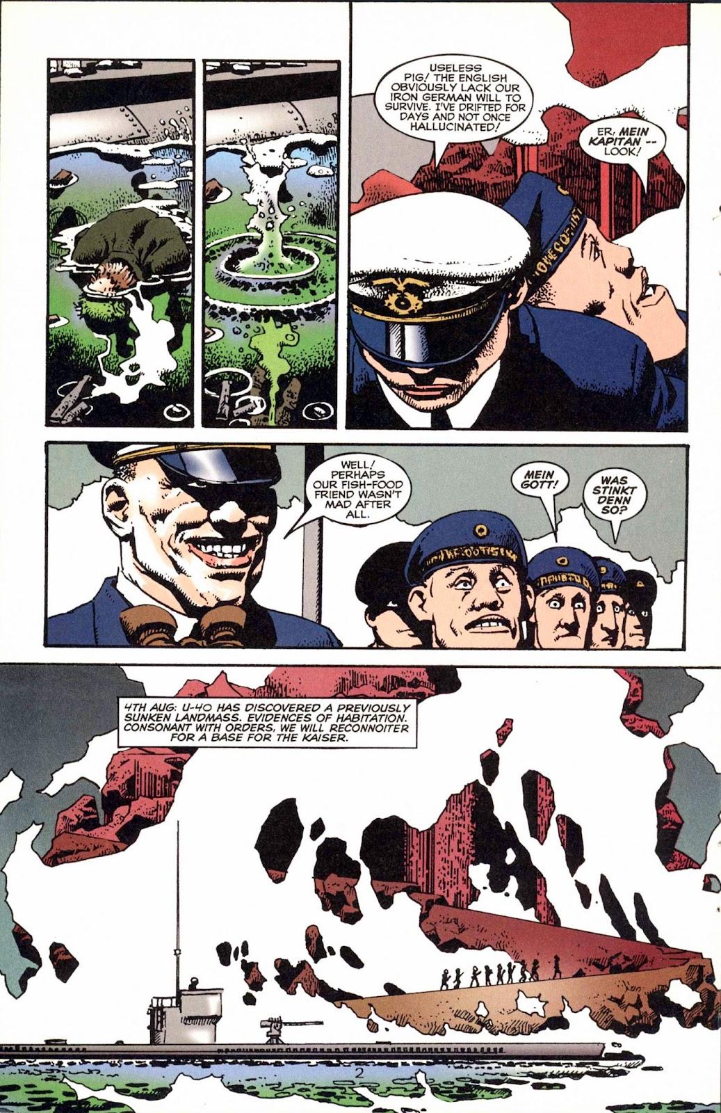 Read online Weird War Tales (1997) comic -  Issue #1 - 5