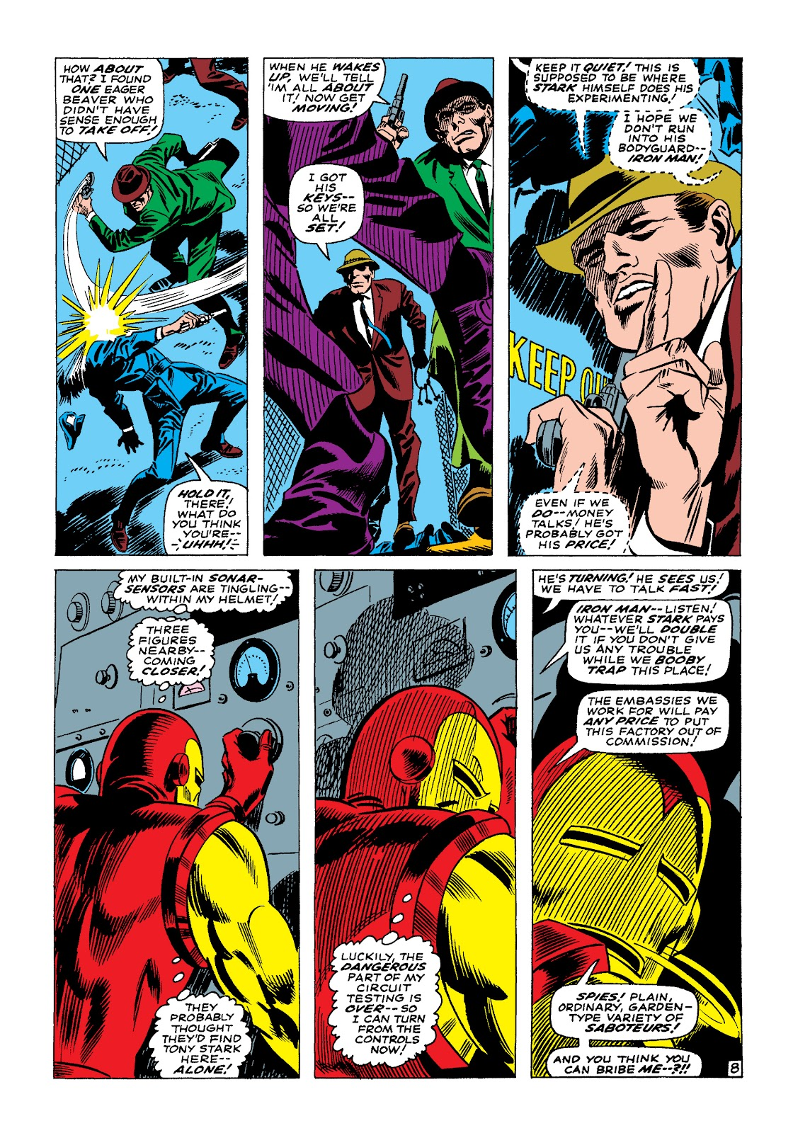Read online Marvel Masterworks: The Invincible Iron Man comic -  Issue # TPB 4 (Part 1) - 53