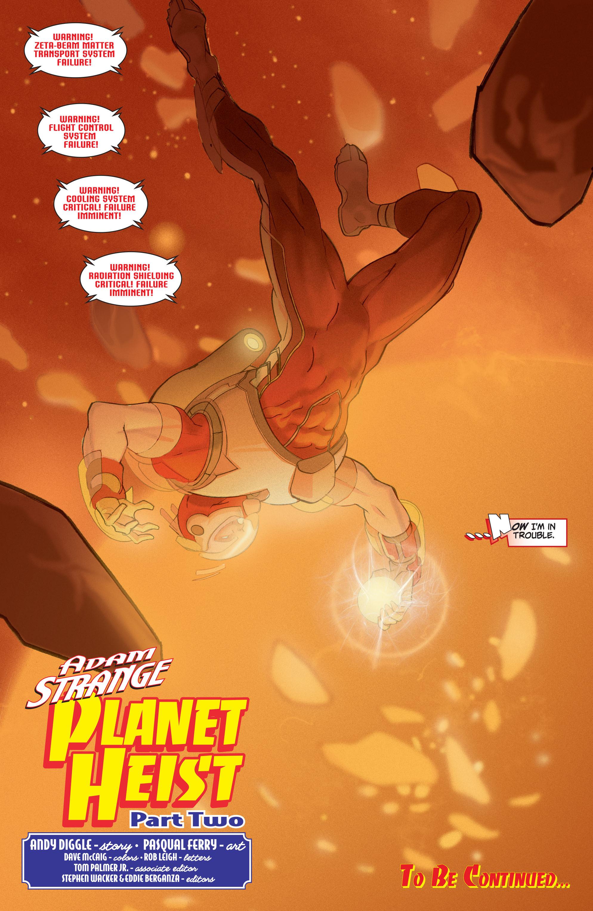 Read online Adam Strange (2004) comic -  Issue #2 - 22