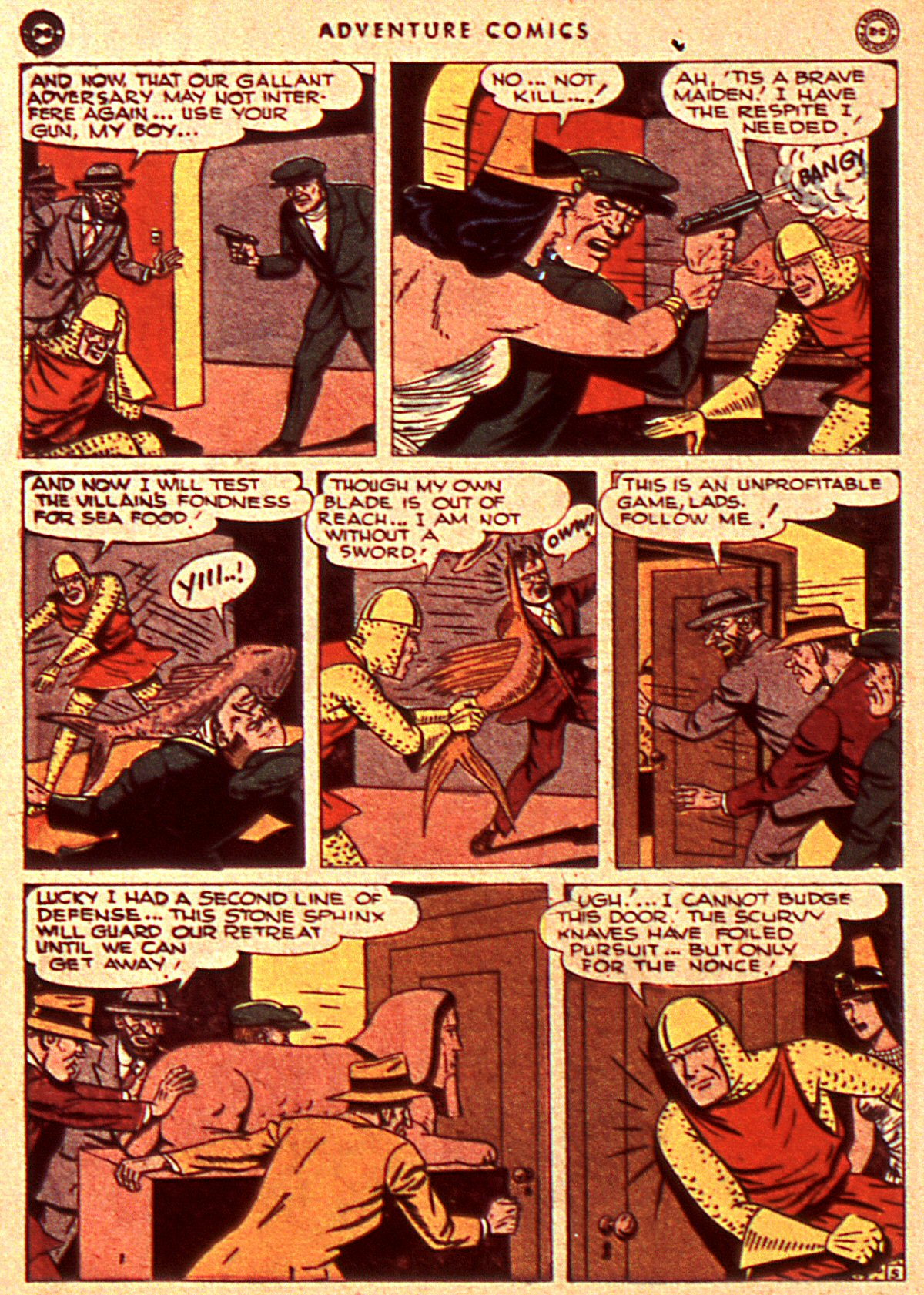 Read online Adventure Comics (1938) comic -  Issue #106 - 36