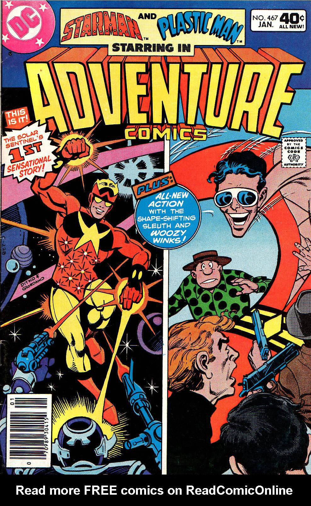 Read online Adventure Comics (1938) comic -  Issue #467 - 1