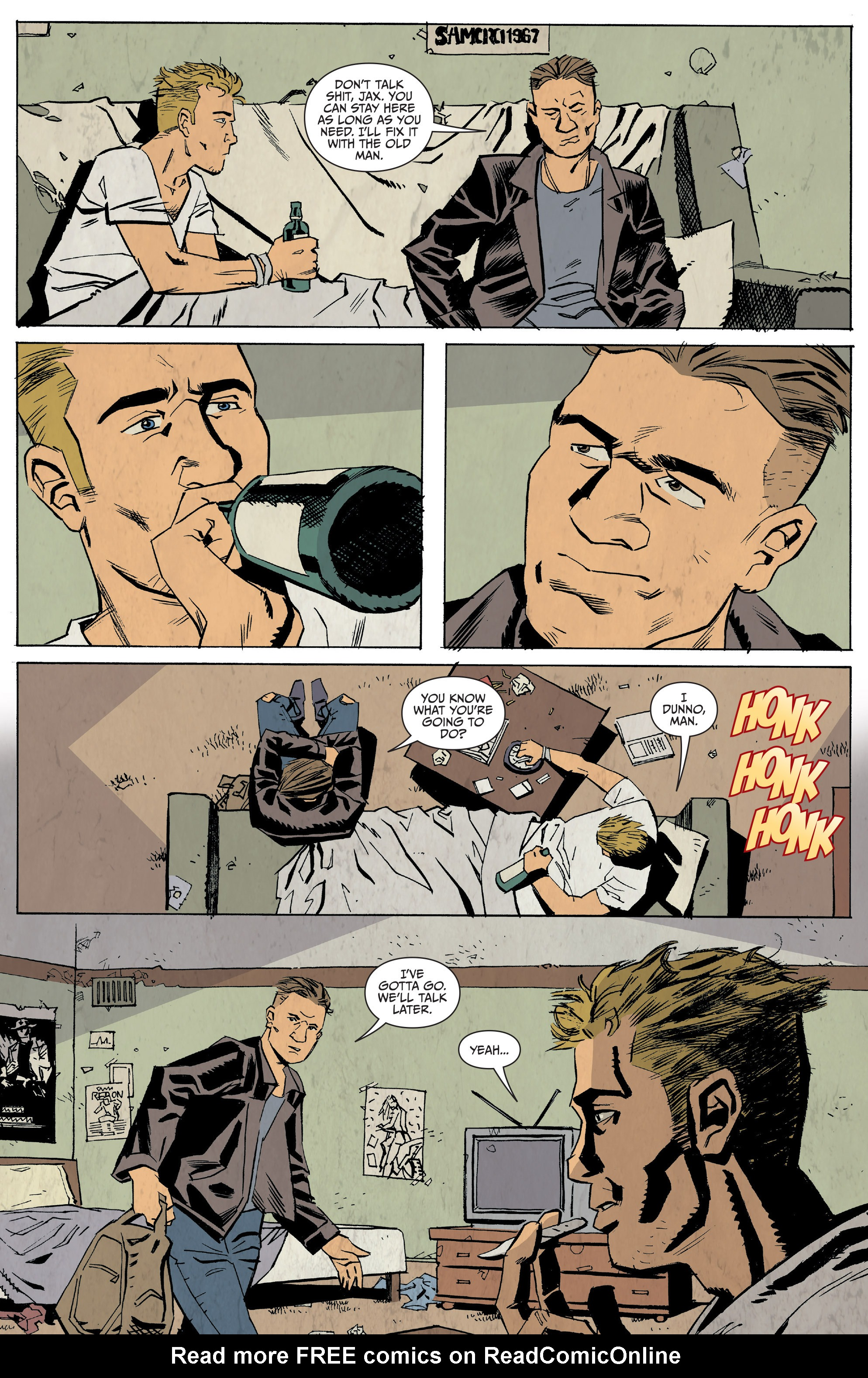 Read online Sons of Anarchy: Redwood Original comic -  Issue #5 - 7