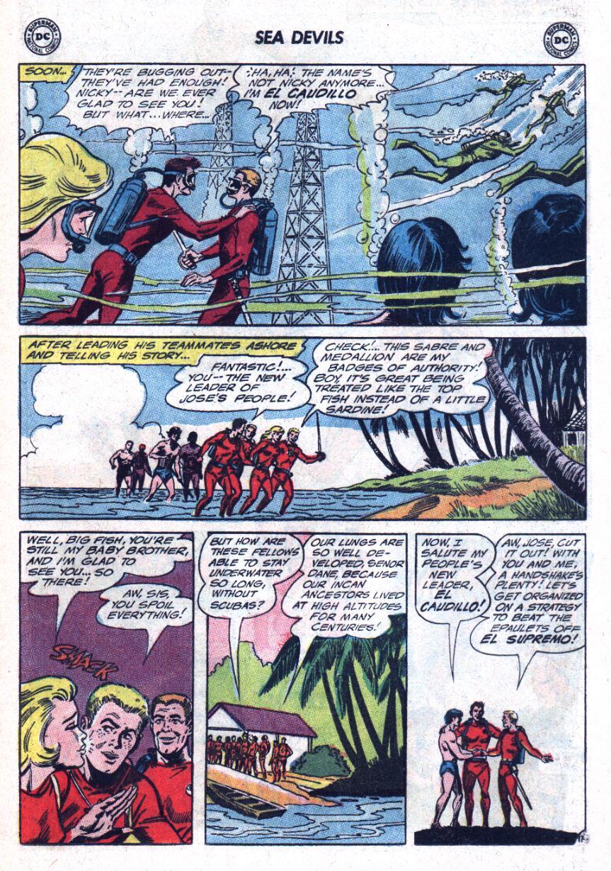 Read online Sea Devils comic -  Issue #25 - 22