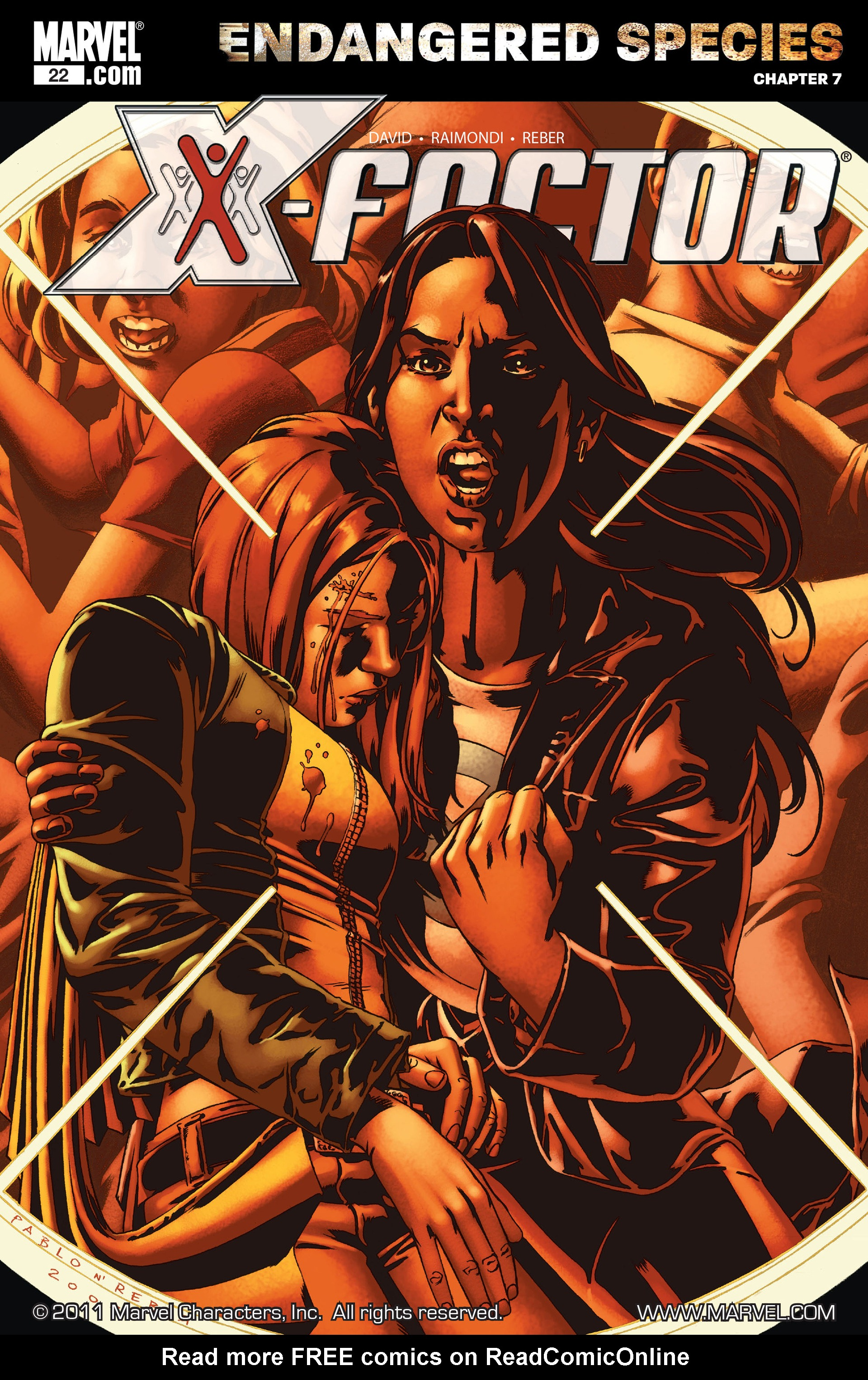 Read online X-Factor (2006) comic -  Issue #22 - 1