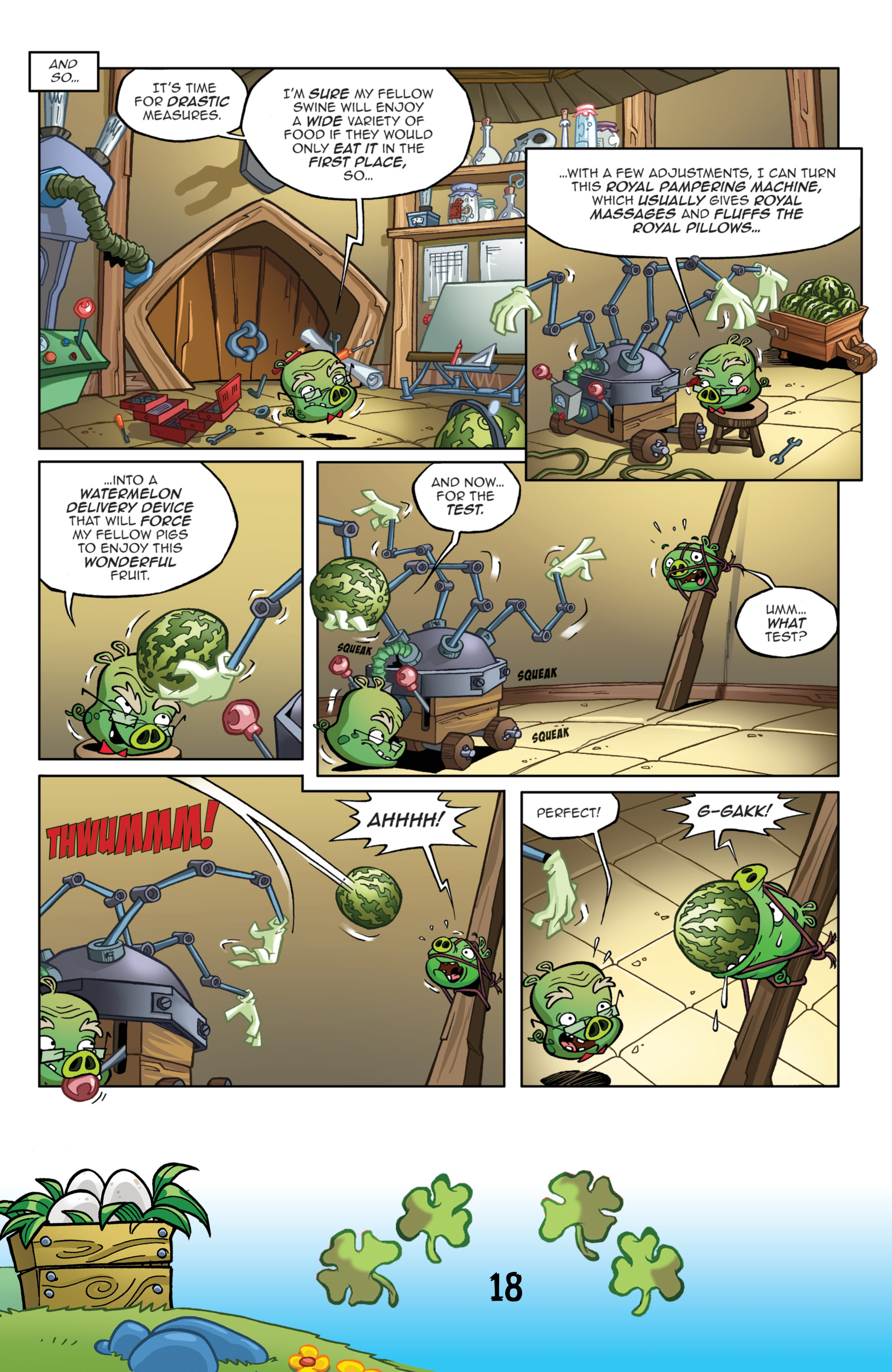 Read online Angry Birds Comics (2016) comic -  Issue #3 - 20