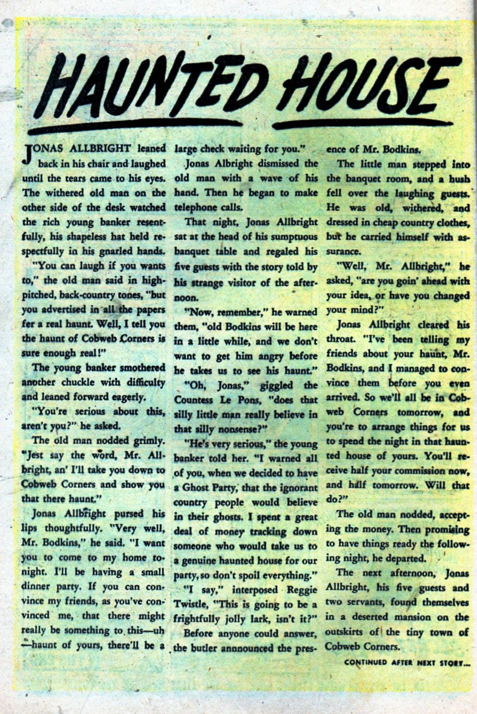 Read online Adventures into Weird Worlds comic -  Issue #27 - 9